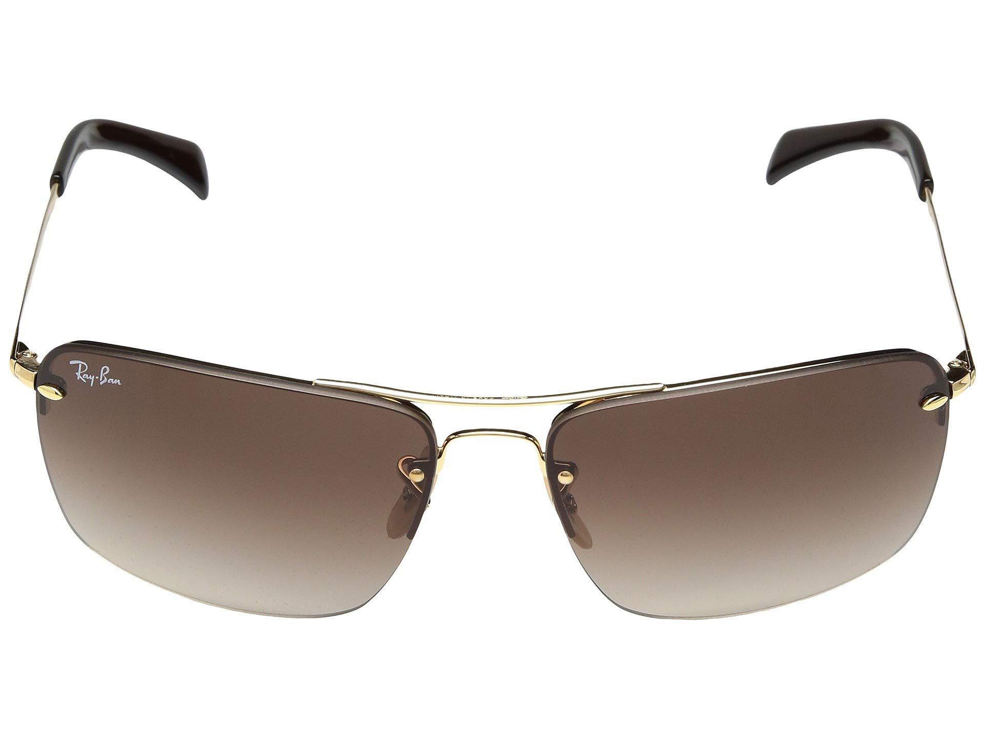 bdf9079b4b Lyst - Ray-Ban Rb3607 61 Mm. (black dark Green) Fashion Sunglasses ...
