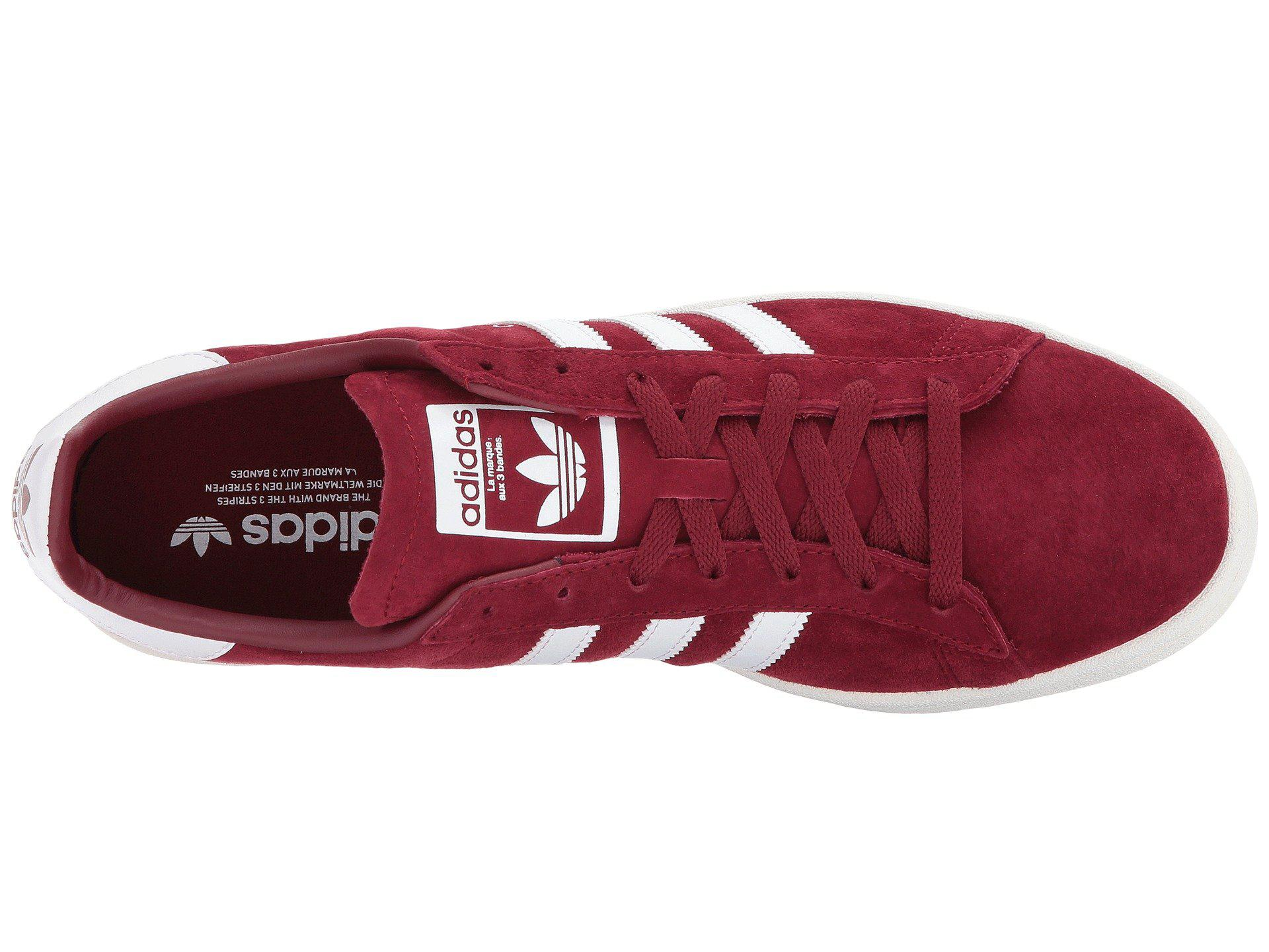 3e6a9d2470d7f7 Adidas Originals - Multicolor Campus (burgundy white chalk White) Men s  Classic Shoes. View fullscreen