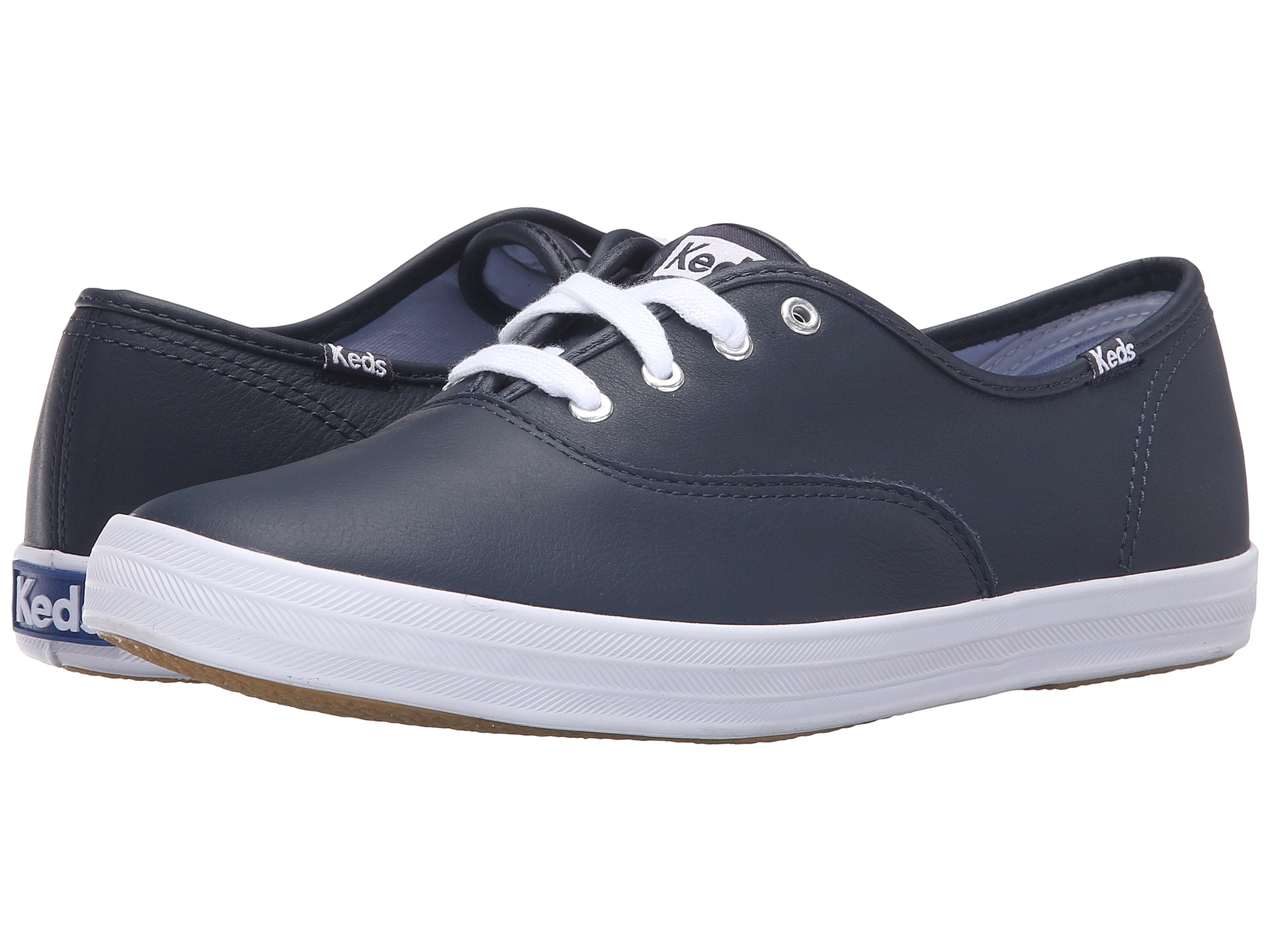 Keds Champion Leather Cvo In Blue Lyst