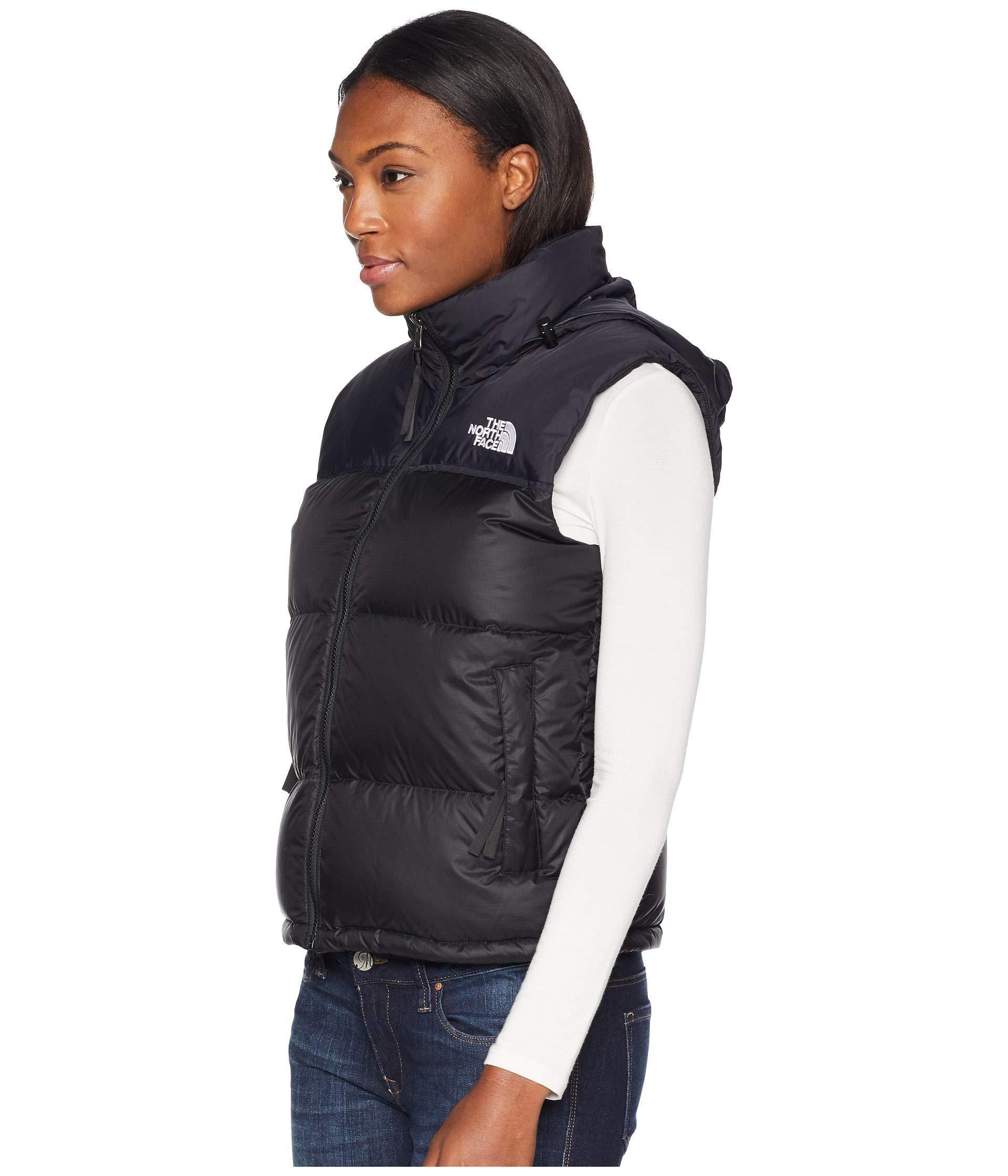 The North Face - Blue 1996 Retro Nuptse Vest (tumbleweed Green) Women s Vest  -. View fullscreen 8fe5e9b3b