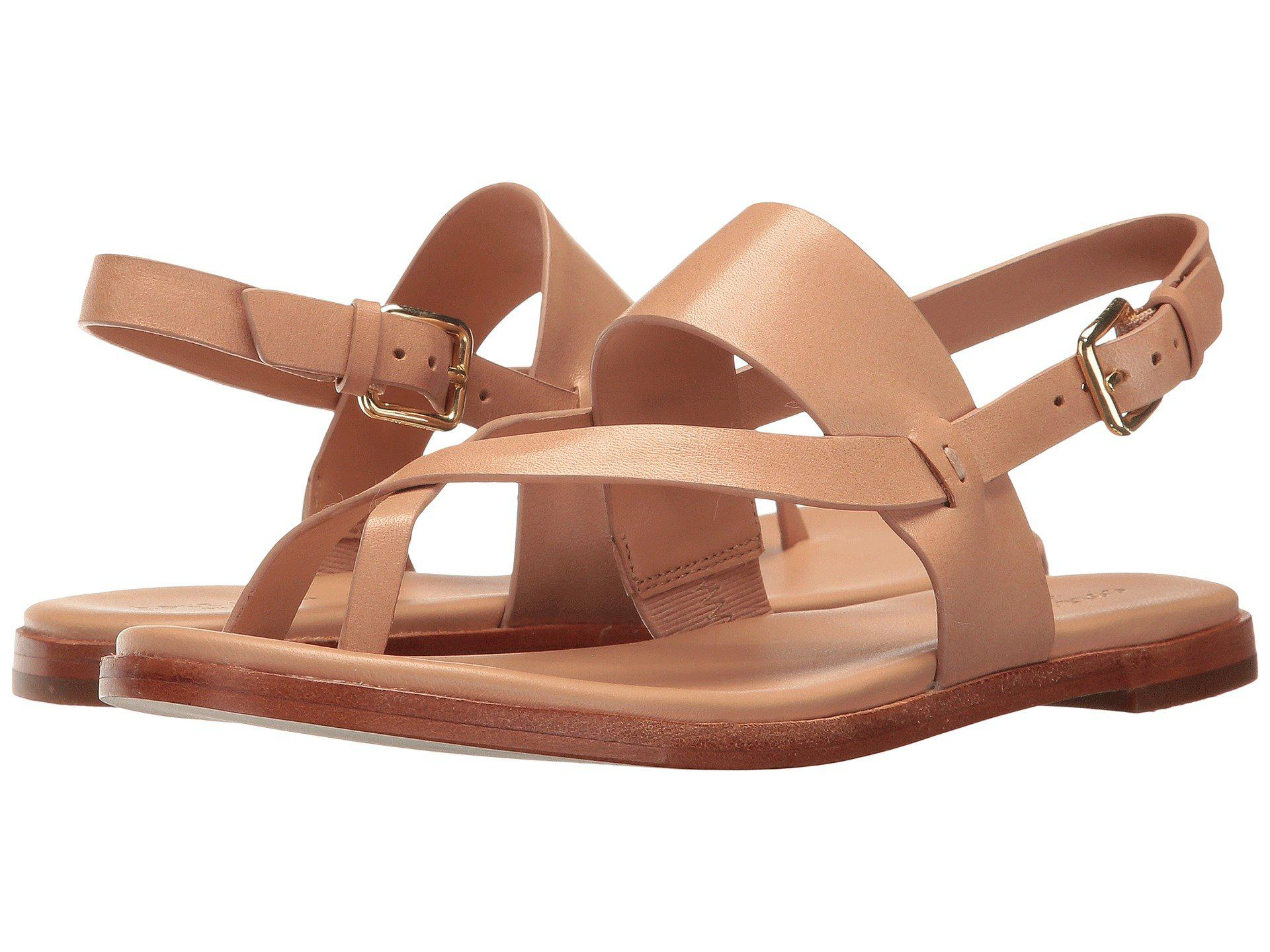 c6fe8bf2e2a0 Lyst - Cole Haan Anica Thong Sandal (nude) Women s Dress Sandals ...