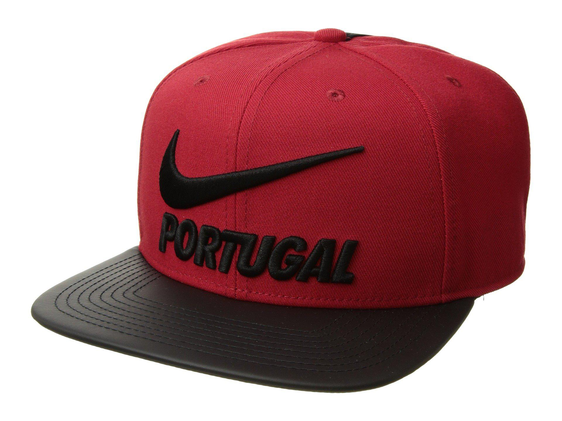 9e6a05e73ae Lyst - Nike Fpf Portugal Pro Cap Pride in Red for Men