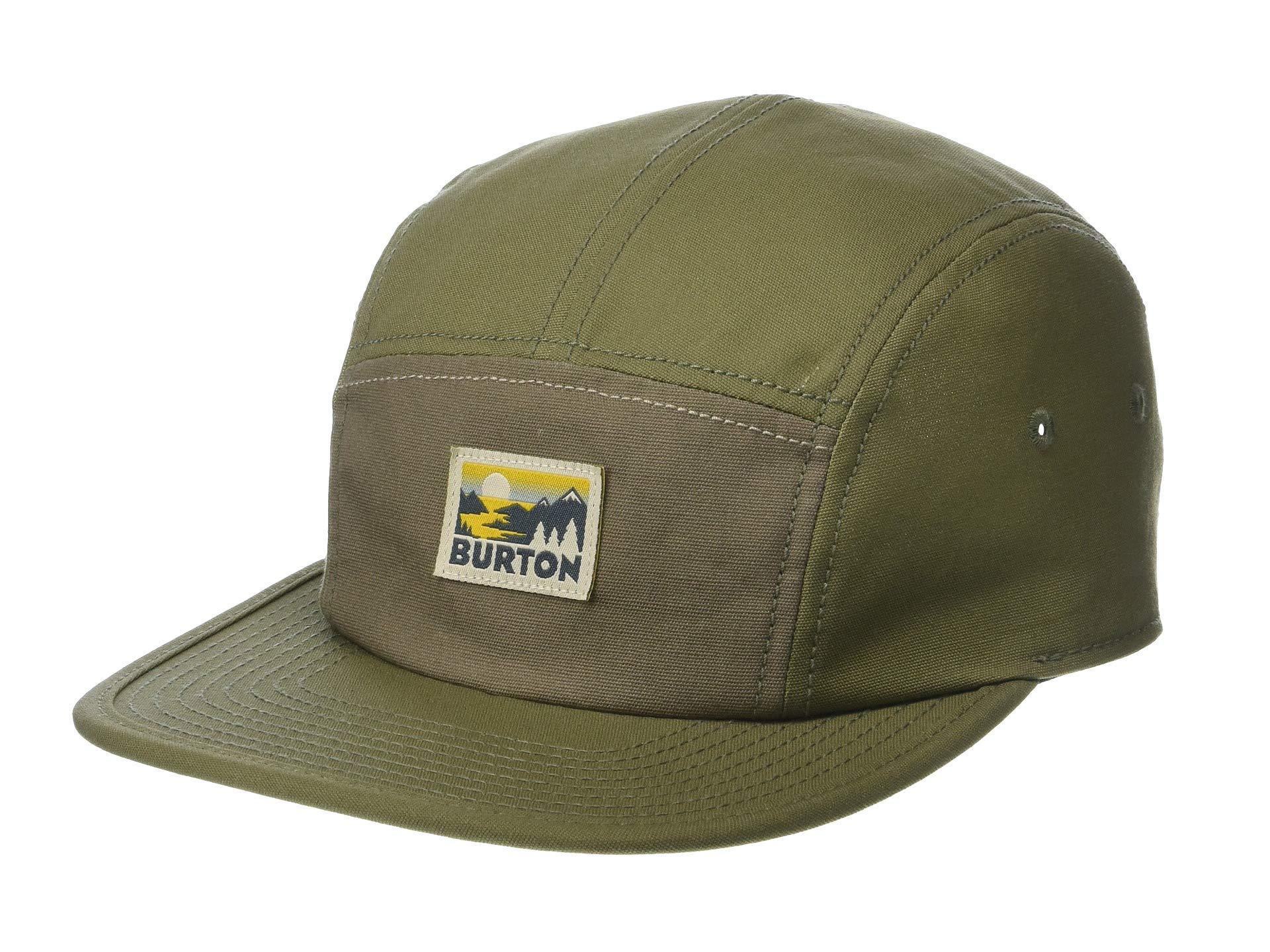 ef9961b29f2 Lyst - Burton Cordova 5 Panel Hat (mood Indigo) Caps in Green for Men
