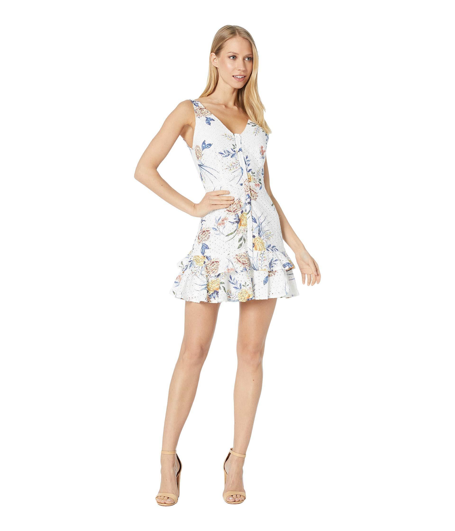 b71020064c7 BB Dakota Turn Up The Heat Dress (optic White) Women s Dress in ...