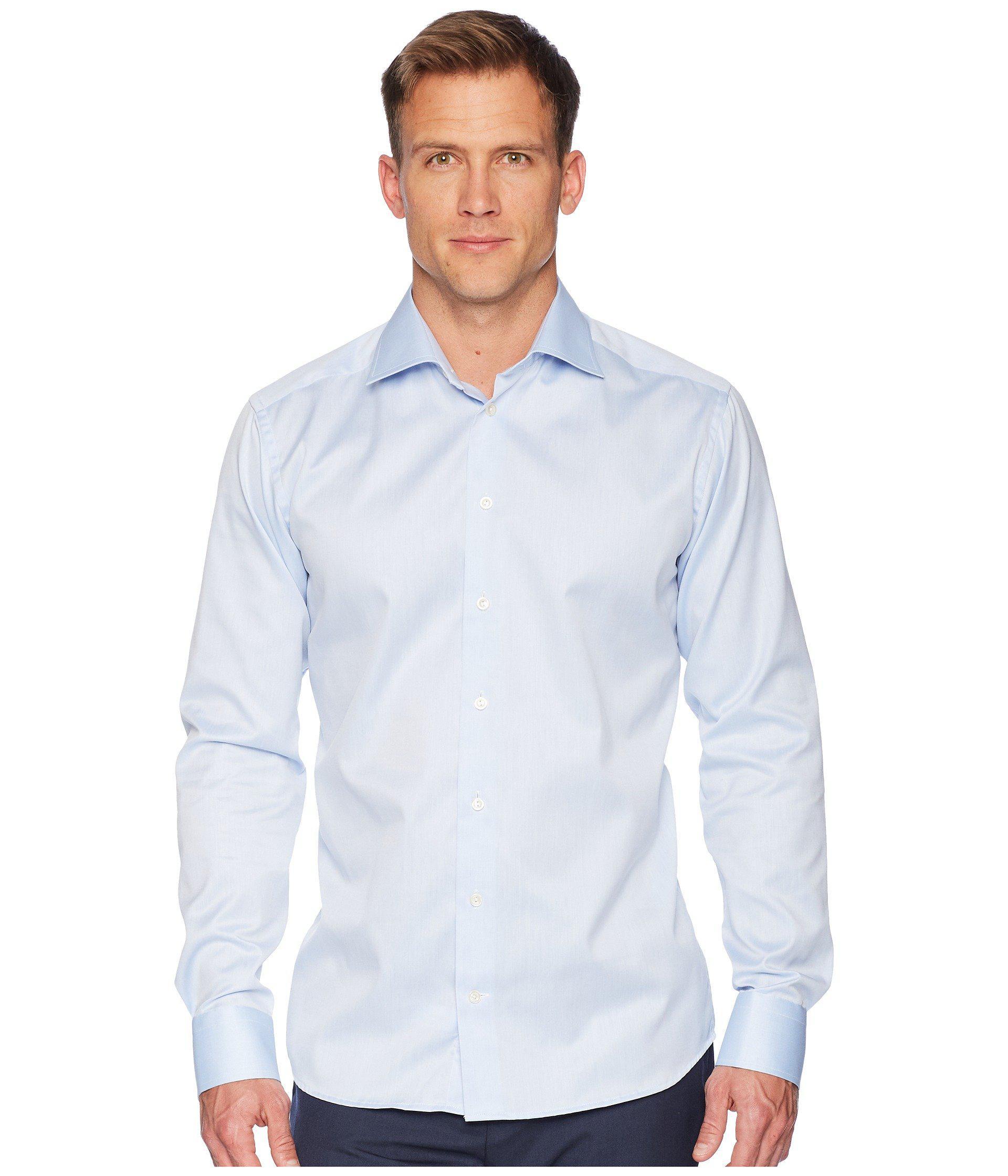 a38de9813e0 Lyst - Eton of Sweden Slim Fit Twill Shirt (white) Men s Clothing in ...