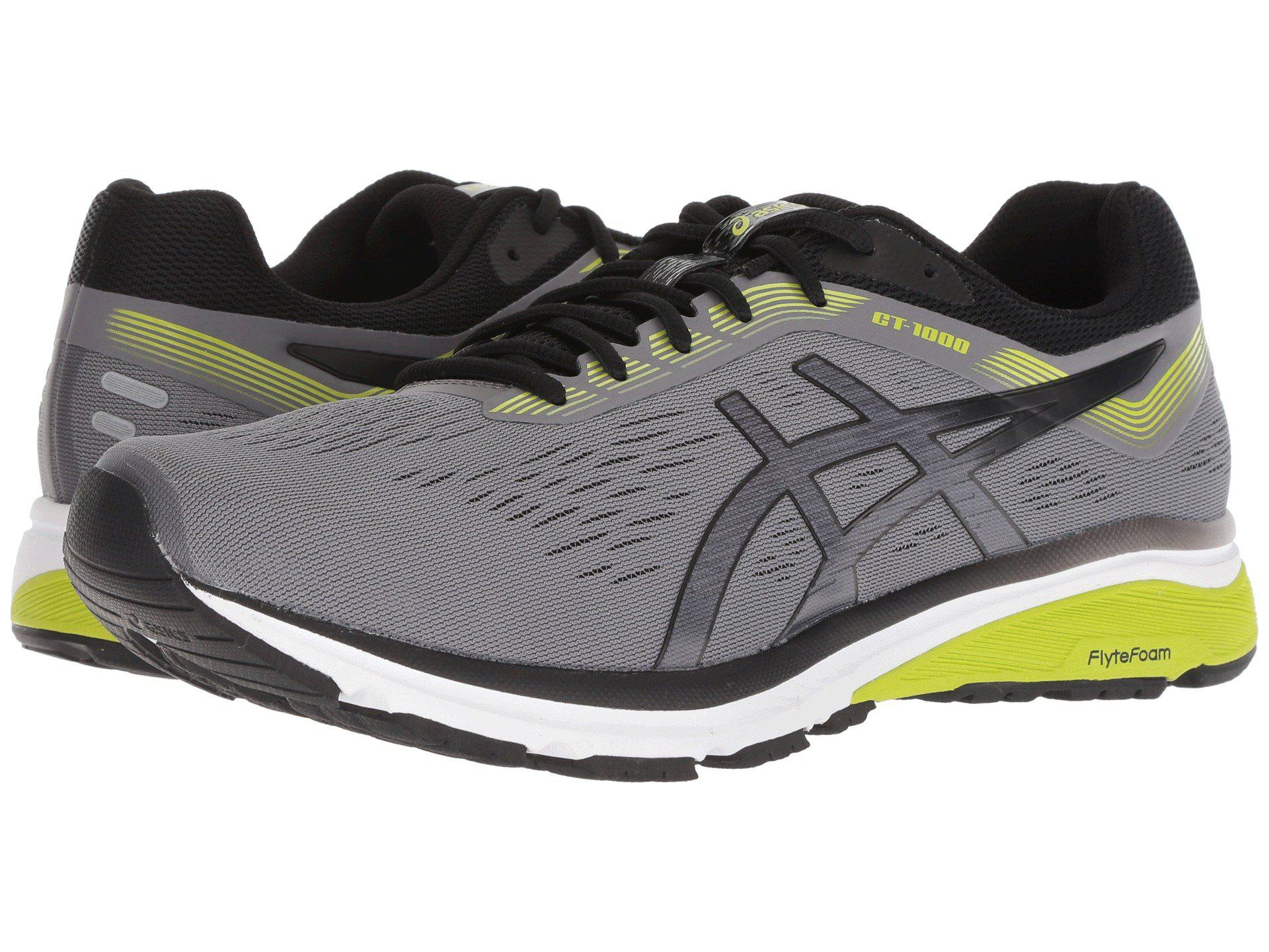 ee6e699fc8dcf Lyst - Asics Gt-1000 7 (stone Grey) Men s Running Shoes in Black for Men