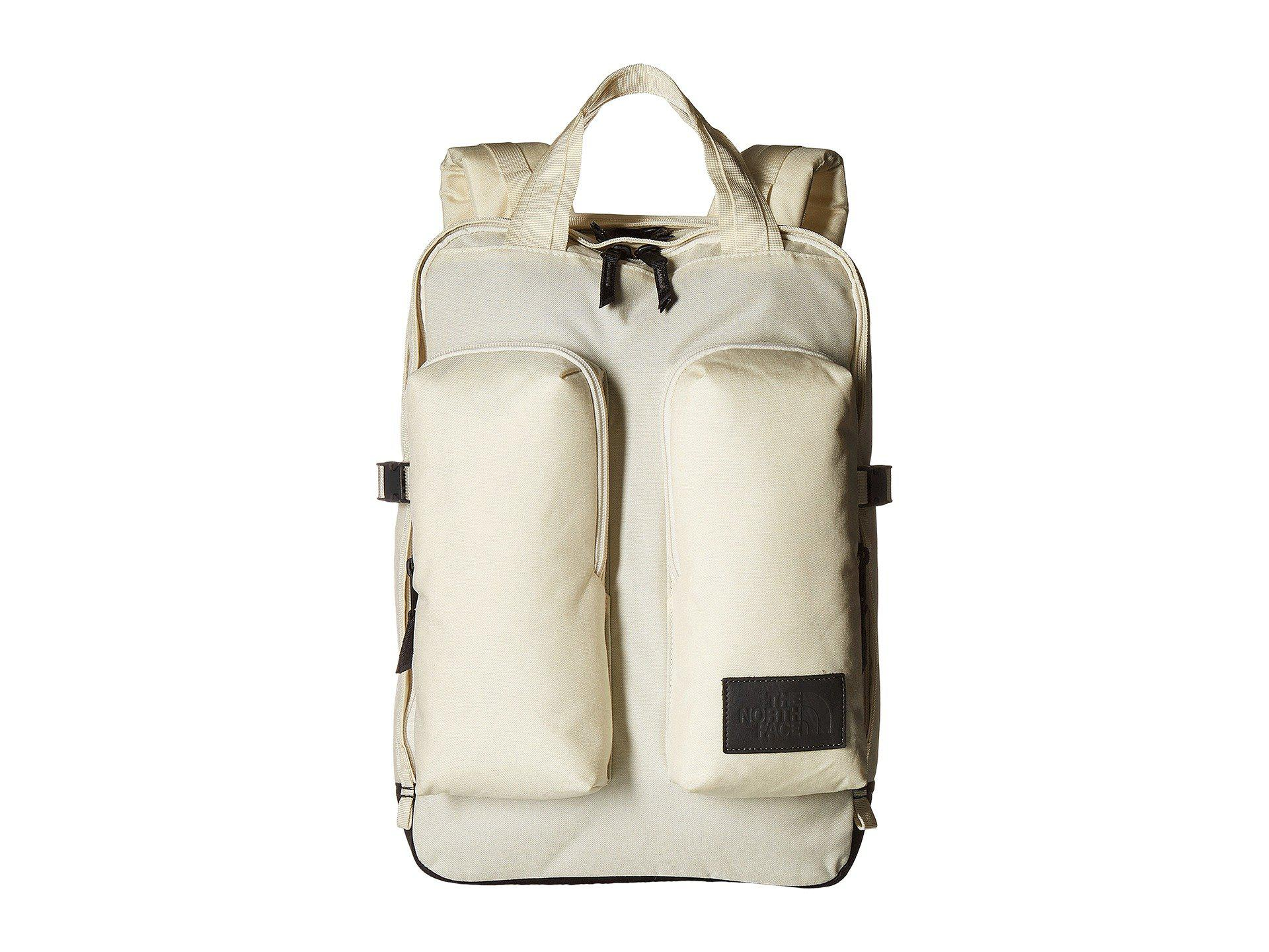 The North Face Field Bag (Vintage White Heather/Weathered Black Heather) Backpack Bags b5nCiHv9