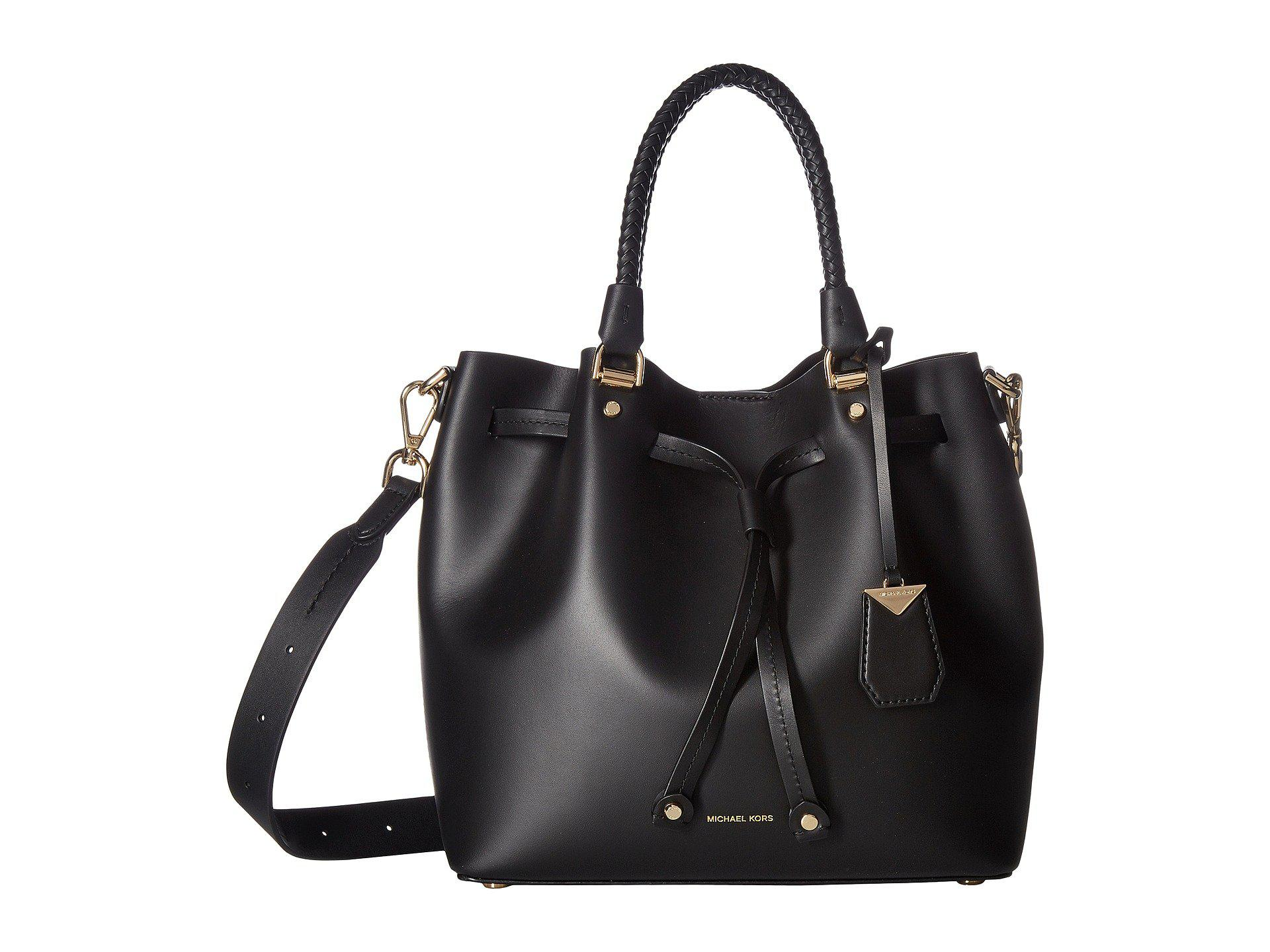 129c52da00c0 Lyst - MICHAEL Michael Kors Blakely Medium Bucket Bag (black ...