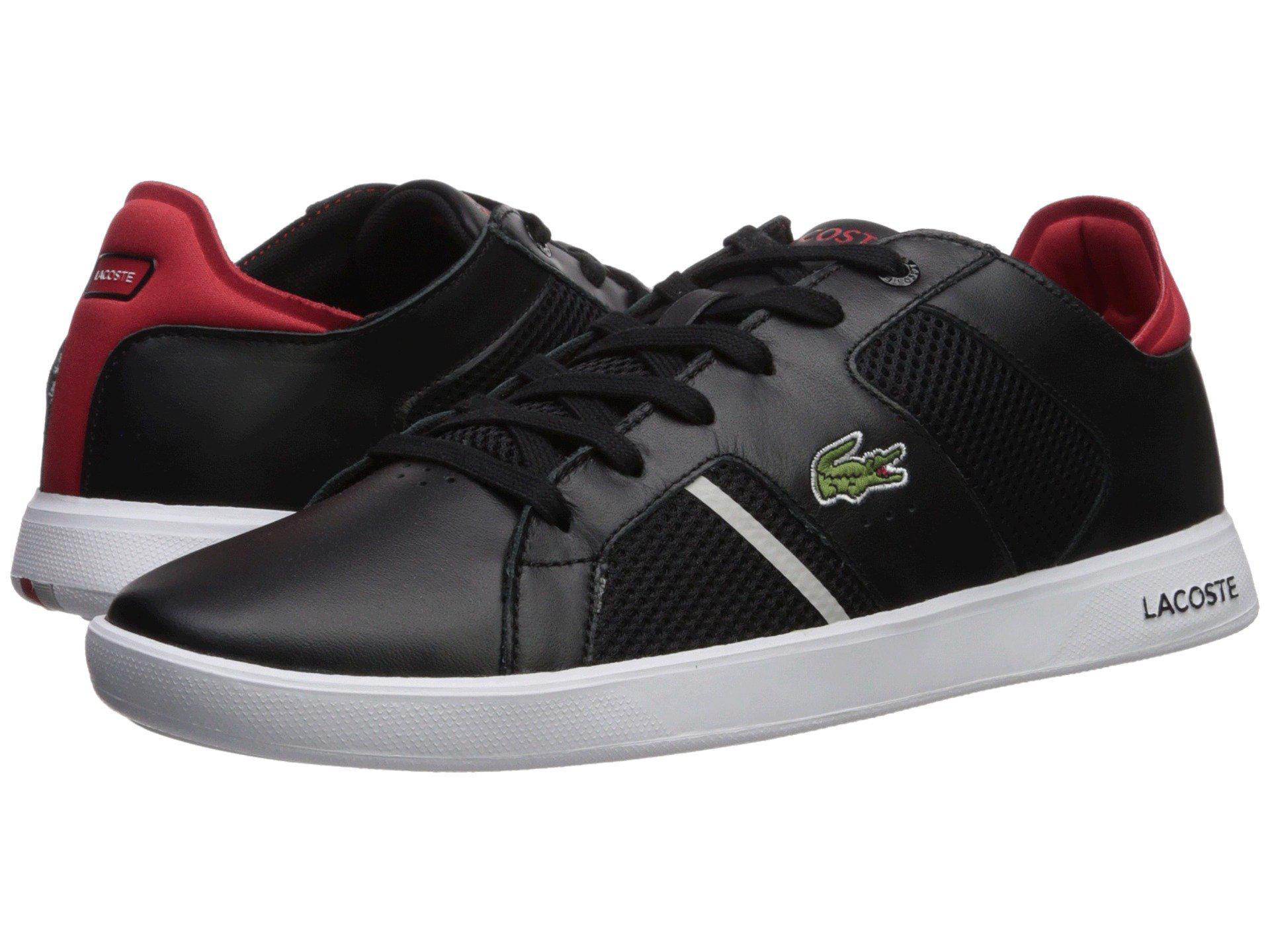 d9275178d Lacoste - Black Novas Ct 218 1 (dark Grey white) Men s Shoes for. View  fullscreen