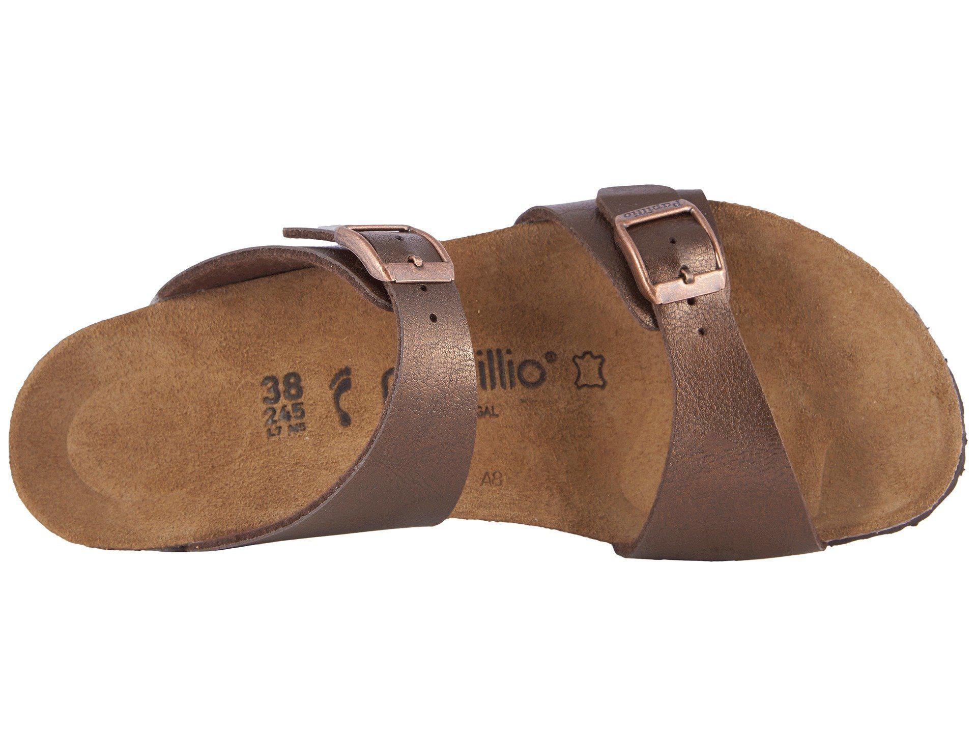 8cd812dd7c ... (graceful Licorice Birko-flortm) Women s Sandals - Lyst. View fullscreen
