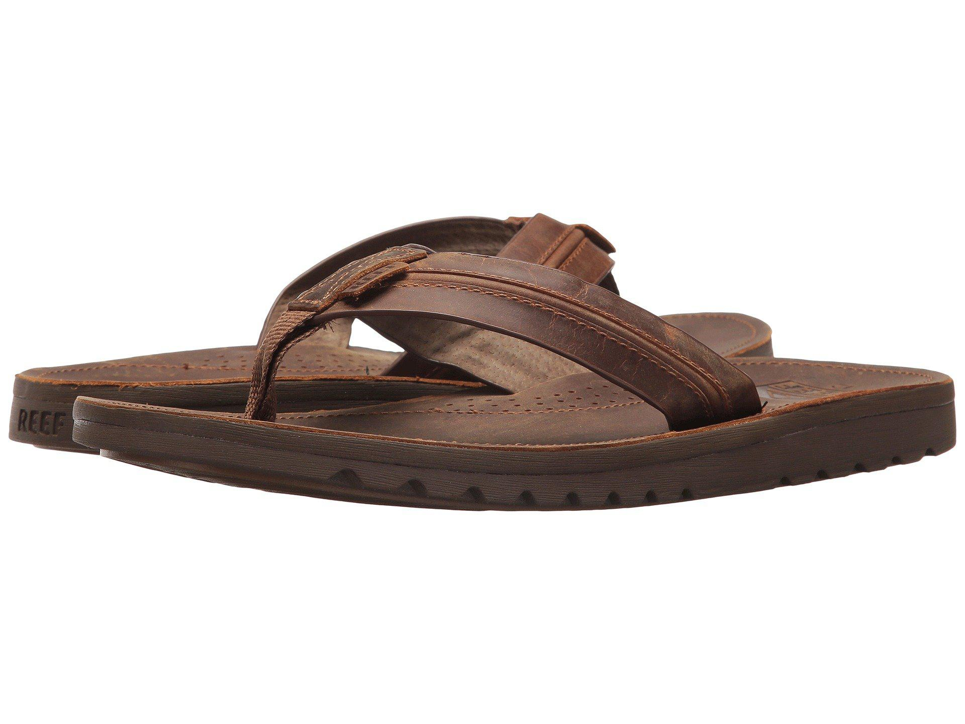 86094ab38a3f Lyst - Reef Voyage Lux (brown brown) Men s Sandals in Brown for Men