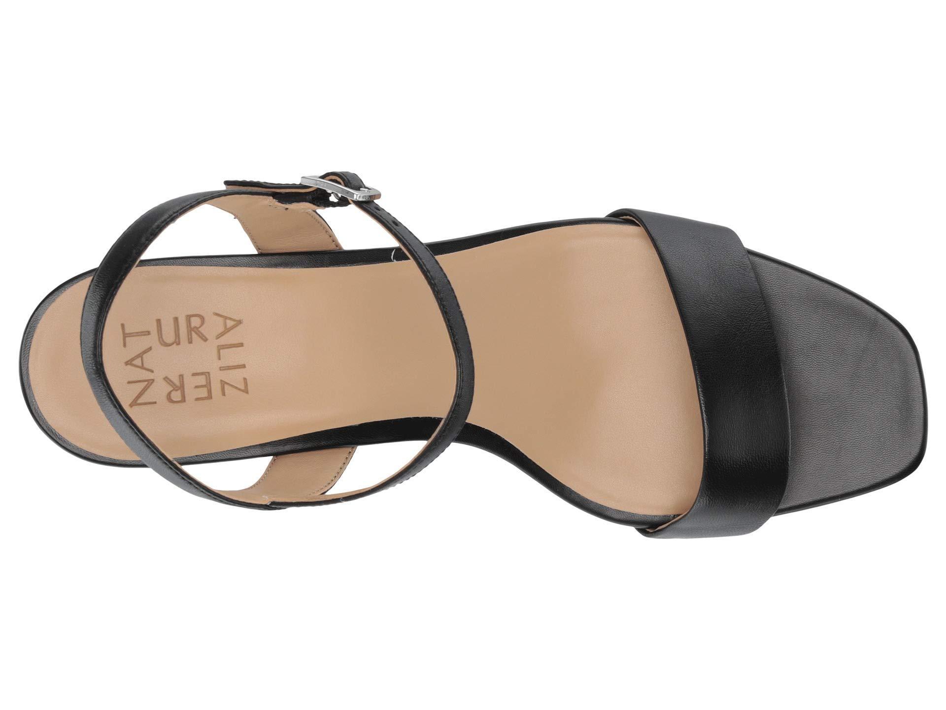 c1338b3b771 Naturalizer - Ivy (black Leather) High Heels - Lyst. View fullscreen