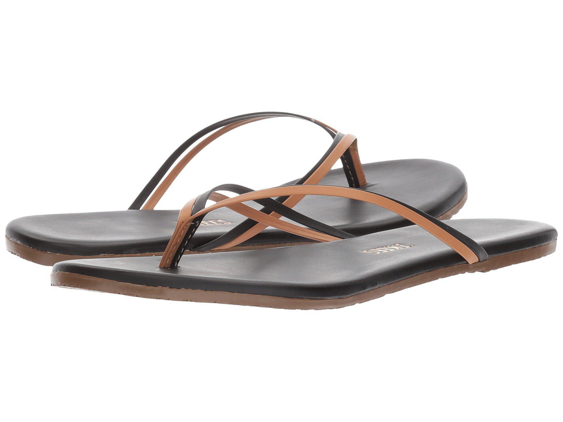 f2590b746da Lyst - TKEES Flip-flop-duos (brownie) Women s Toe Open Shoes