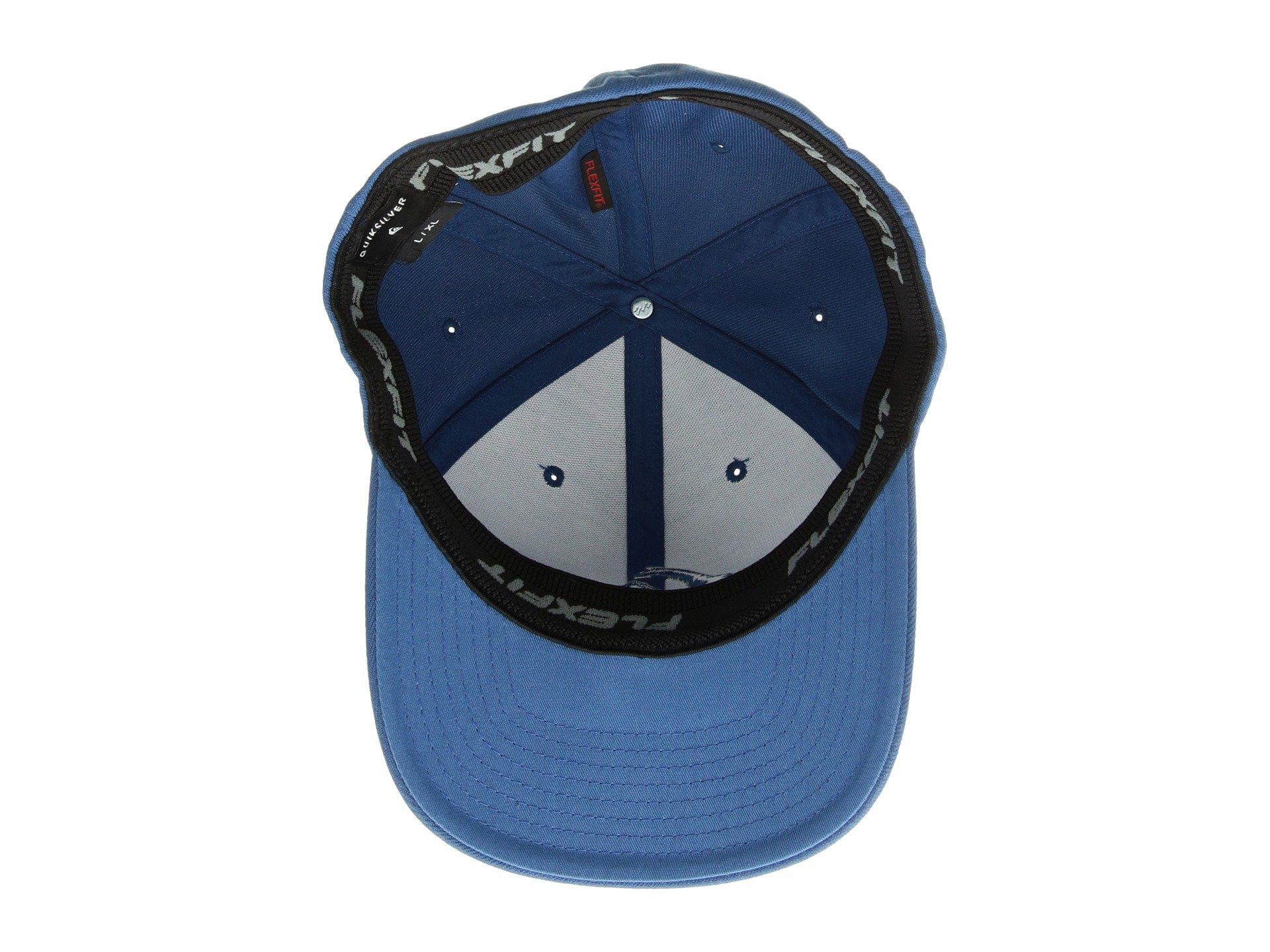 newest 8a4c6 74f46 Lyst - Quiksilver Mountain And Wave Hat (black) Caps in Blue for Men