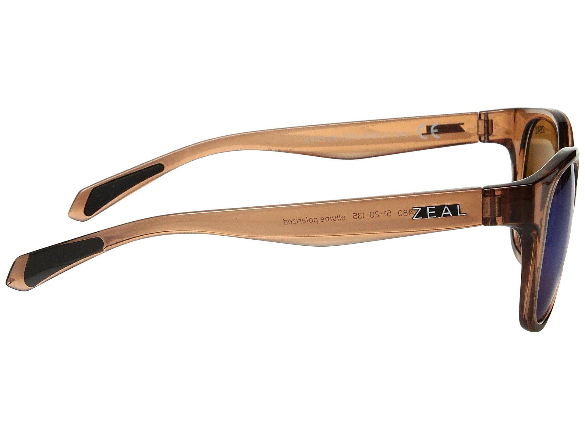 4aeb591fde7 Zeal Optics - Multicolor Windsor (matte Black polarized Dark Grey Lens)  Athletic Performance. View fullscreen