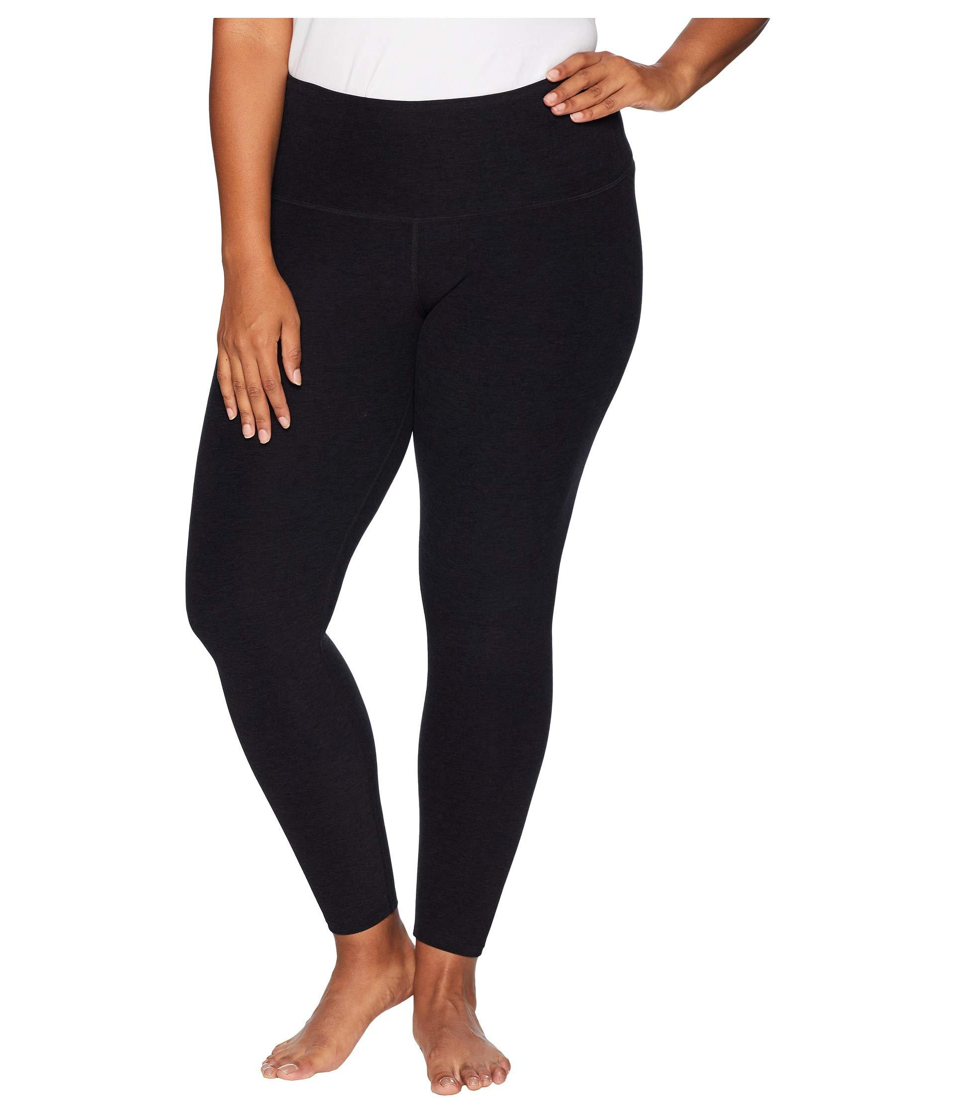 4283988f83ad1d Beyond Yoga. Plus Size High-waisted Midi Leggings (black/pink/lei) Women's  Workout