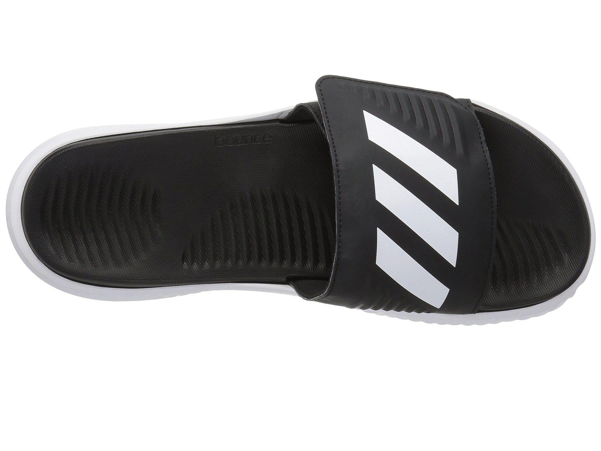 03e98f2b78ff Adidas - Alphabounce Slide (footwear White core Black) Men s Slide Shoes  for Men. View fullscreen