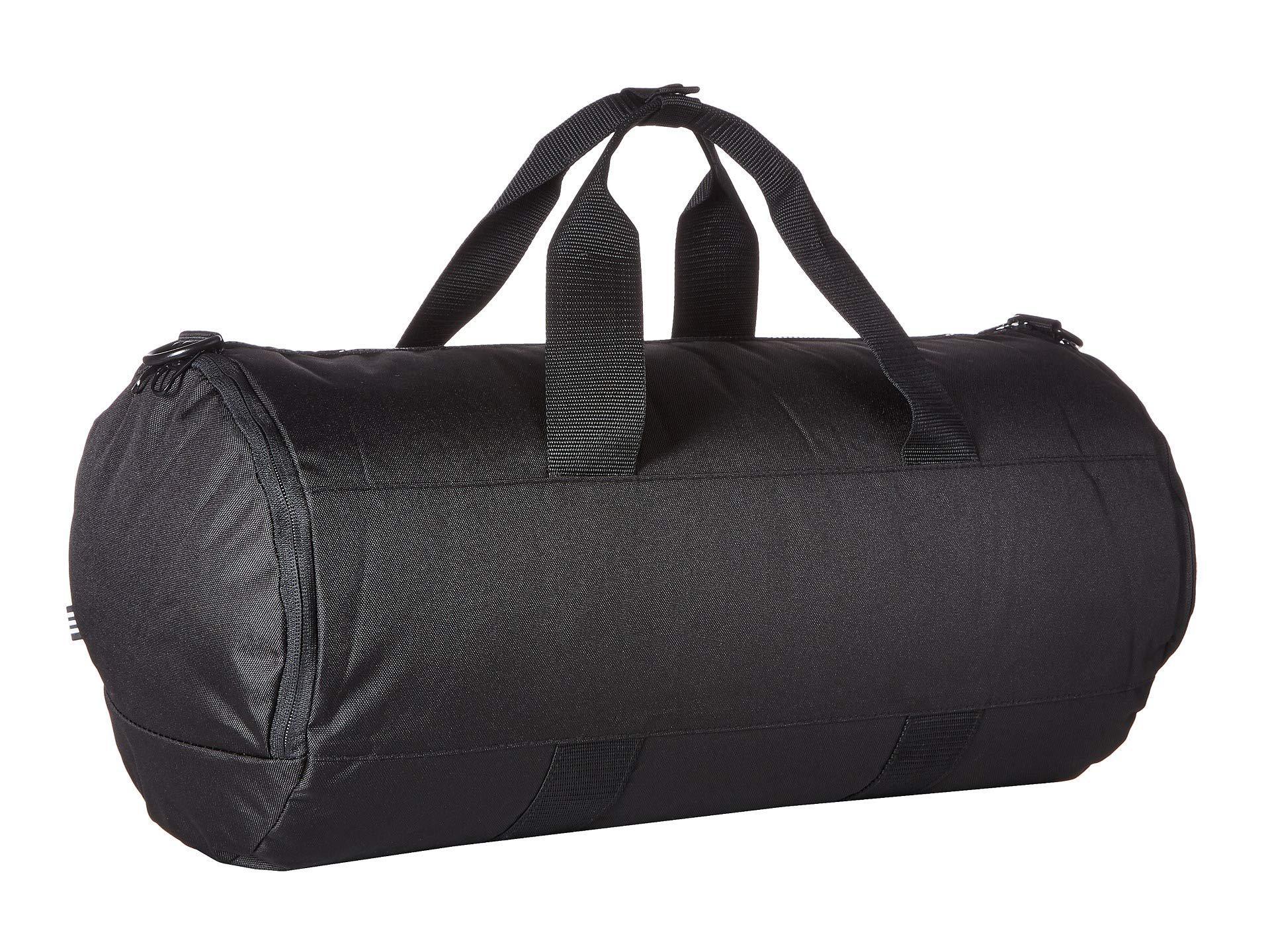 134b6d112b Lyst - adidas Originals Originals Paneled Roll Duffel (black) Bags ...