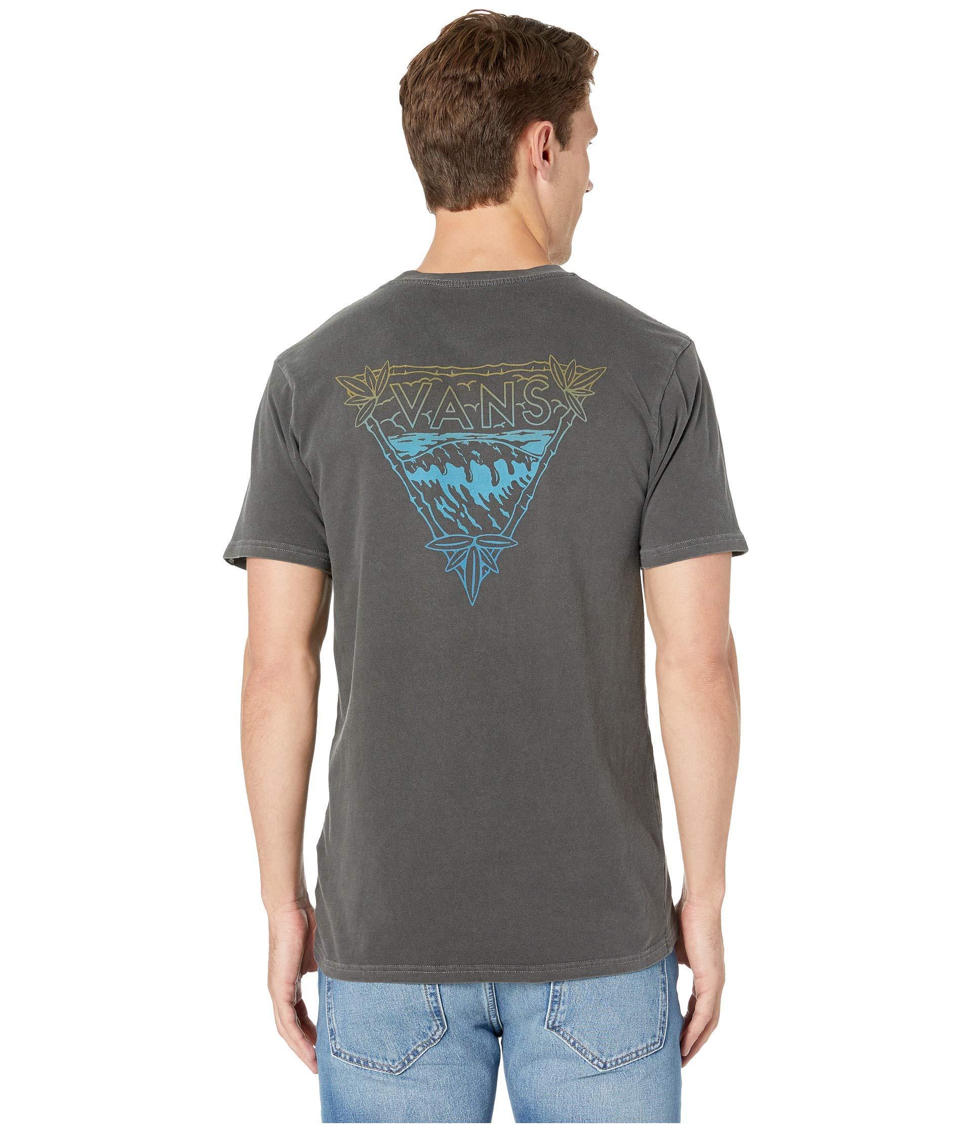164369c59d90 Lyst - Vans Vintage Novelty Waves Short Sleeve T-shirt (black) Men s ...