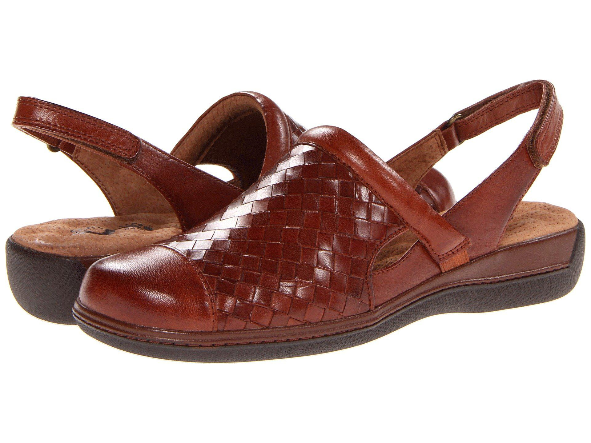 d0d3dfeae5 Lyst - Softwalk Salina Woven (dark Red Burnished Veg Kid Leather ...