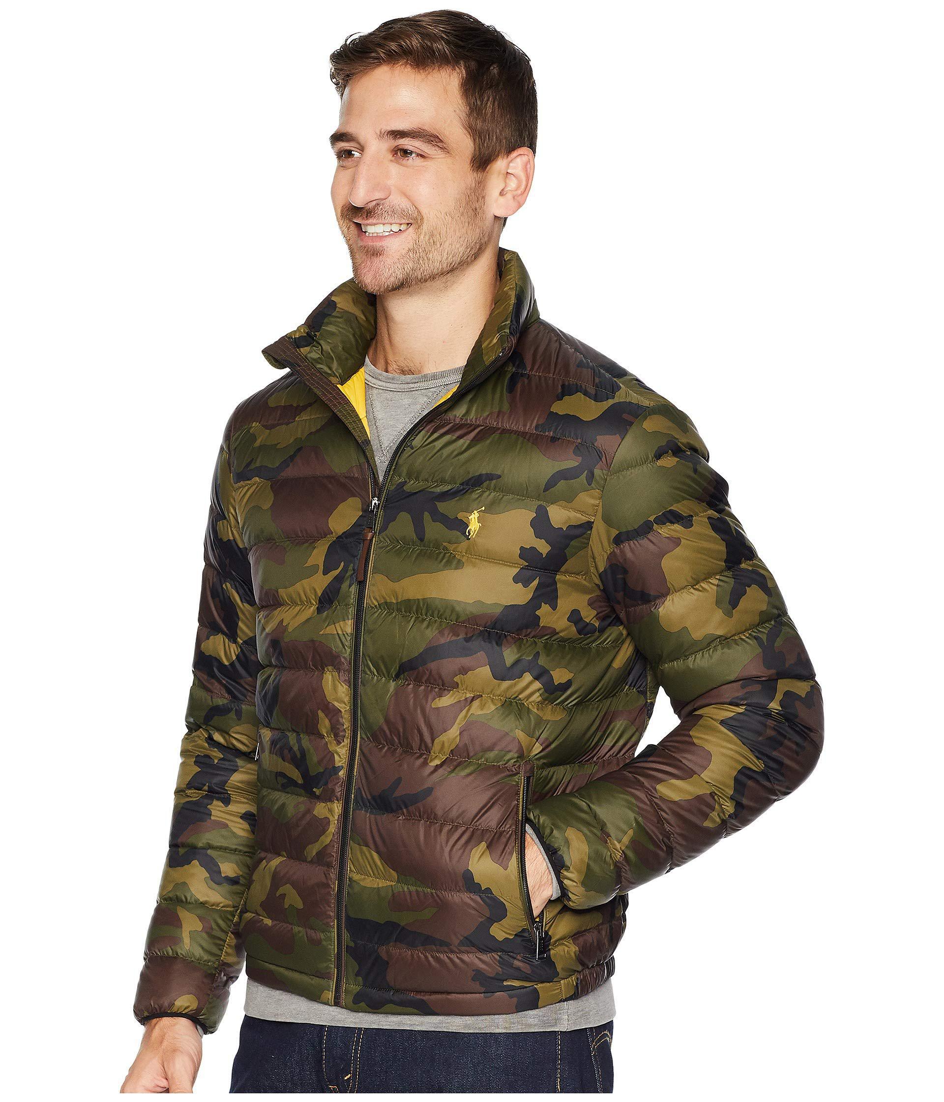 Polo Ralph Lauren Lightweight Packable Down Jacket ...
