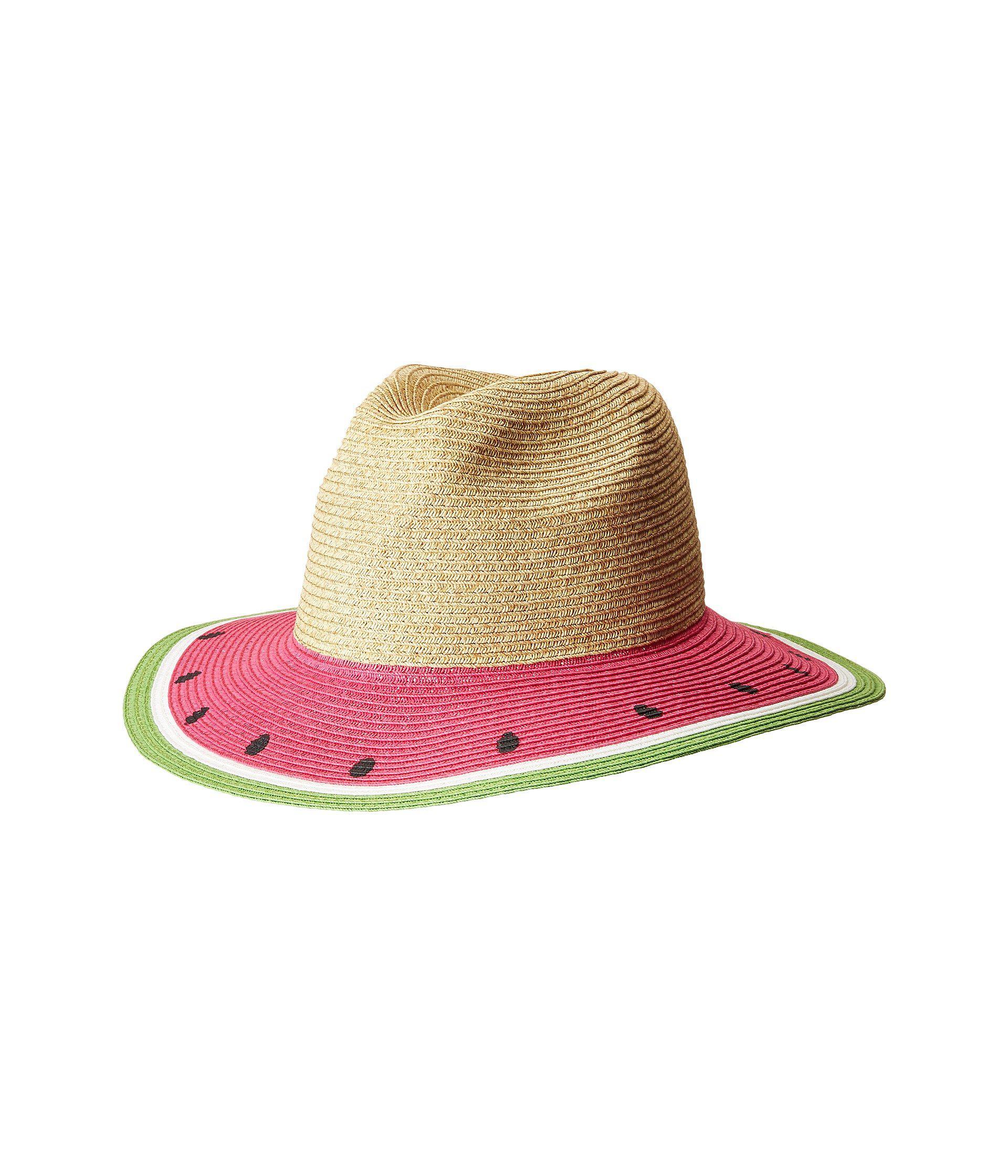 San Diego Hat Company. Women s Ubf1102 Fruit Fedora (watermelon) Fedora Hats 14d7ecc6d787