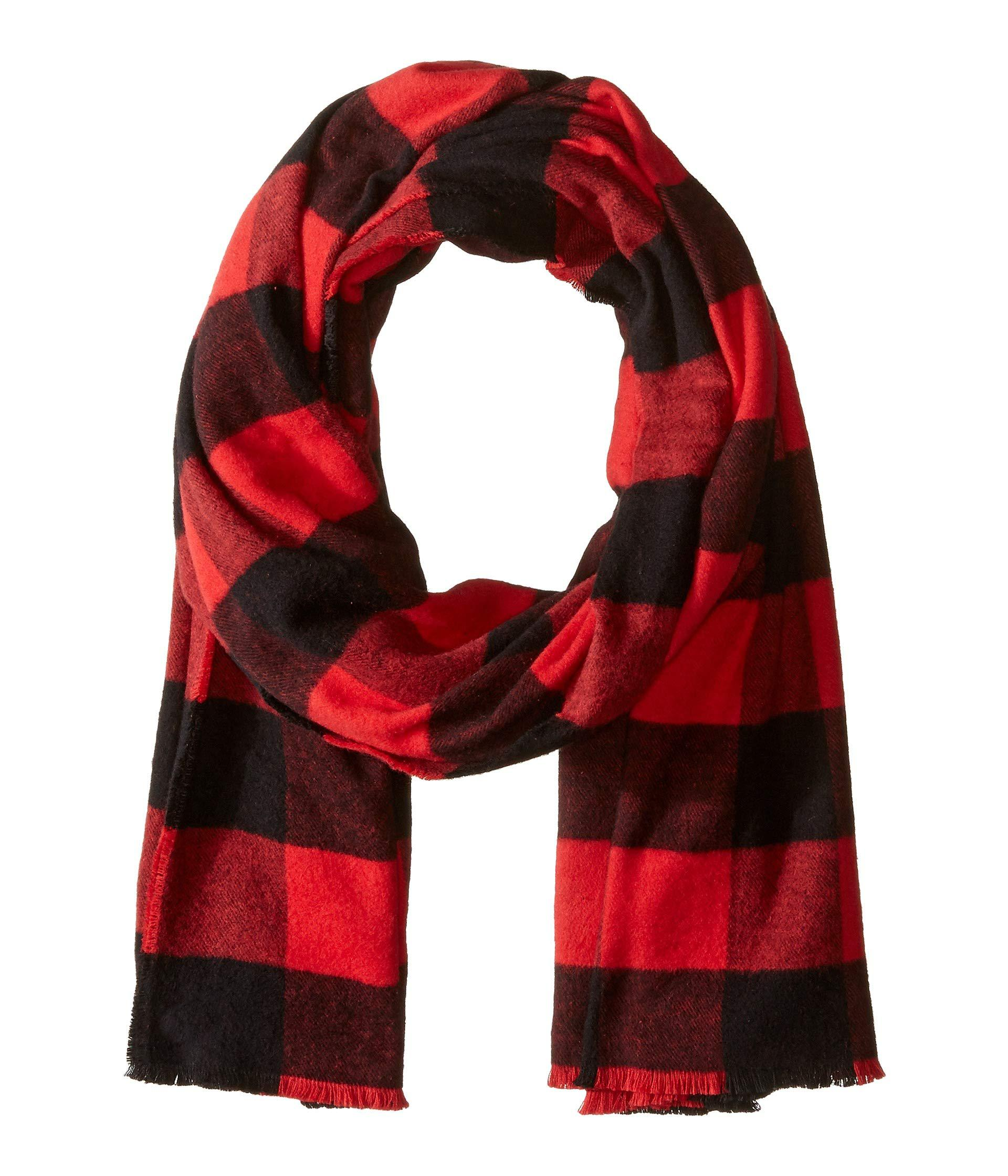 33ed93a74af2 Lyst - Polo Ralph Lauren Lightweight Buffalo Check Scarf (new Red ...