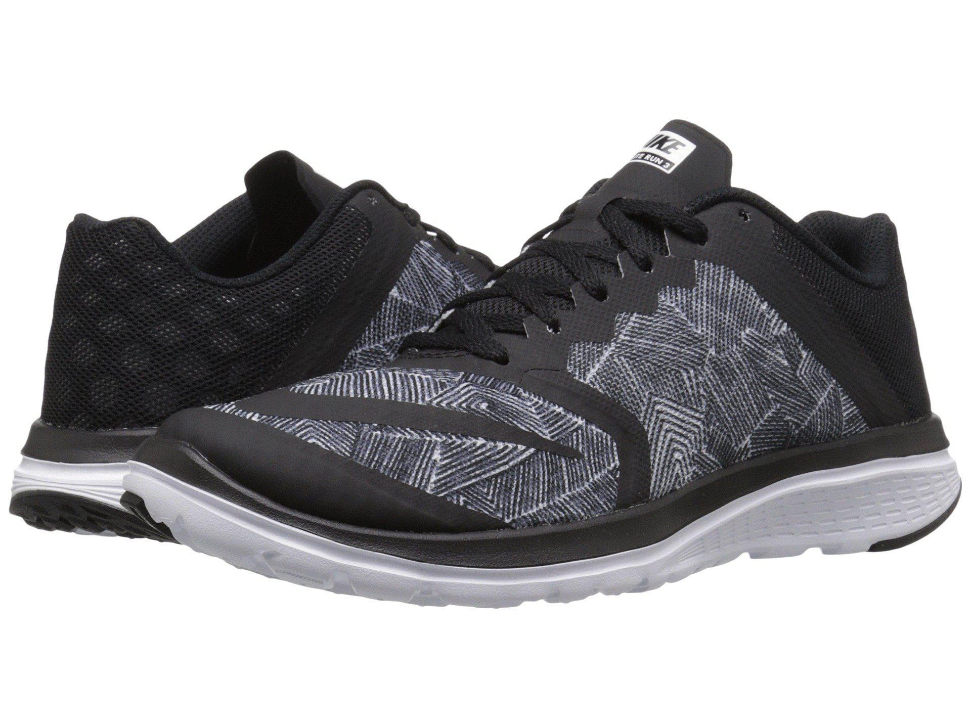 super popular 36a2e bbd86 Lyst - Nike Fs Lite Run 3 Print in Black for Men