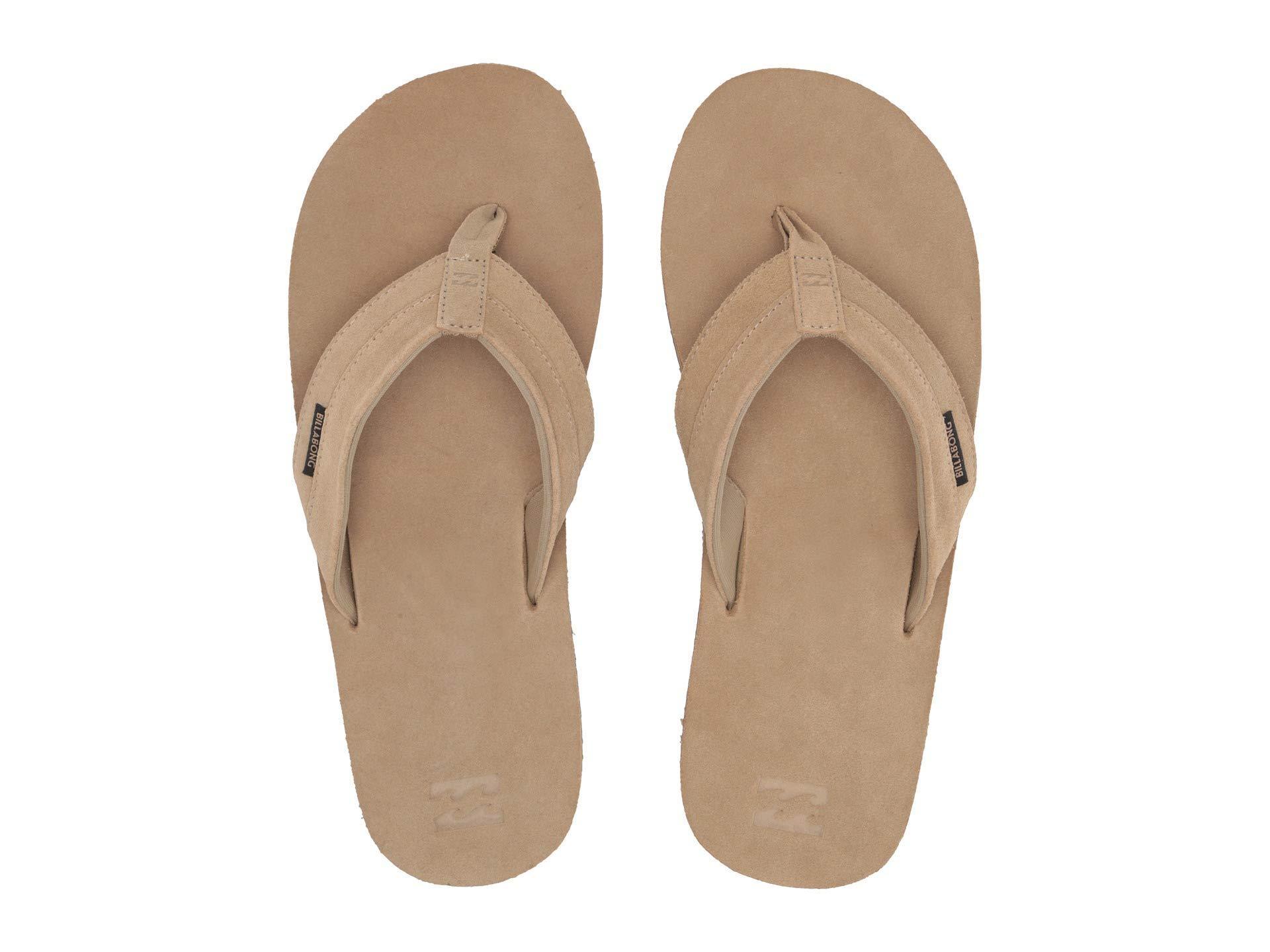 b66566575 Billabong - All Day Leather (dark Brown) Men s Sandals for Men - Lyst. View  fullscreen