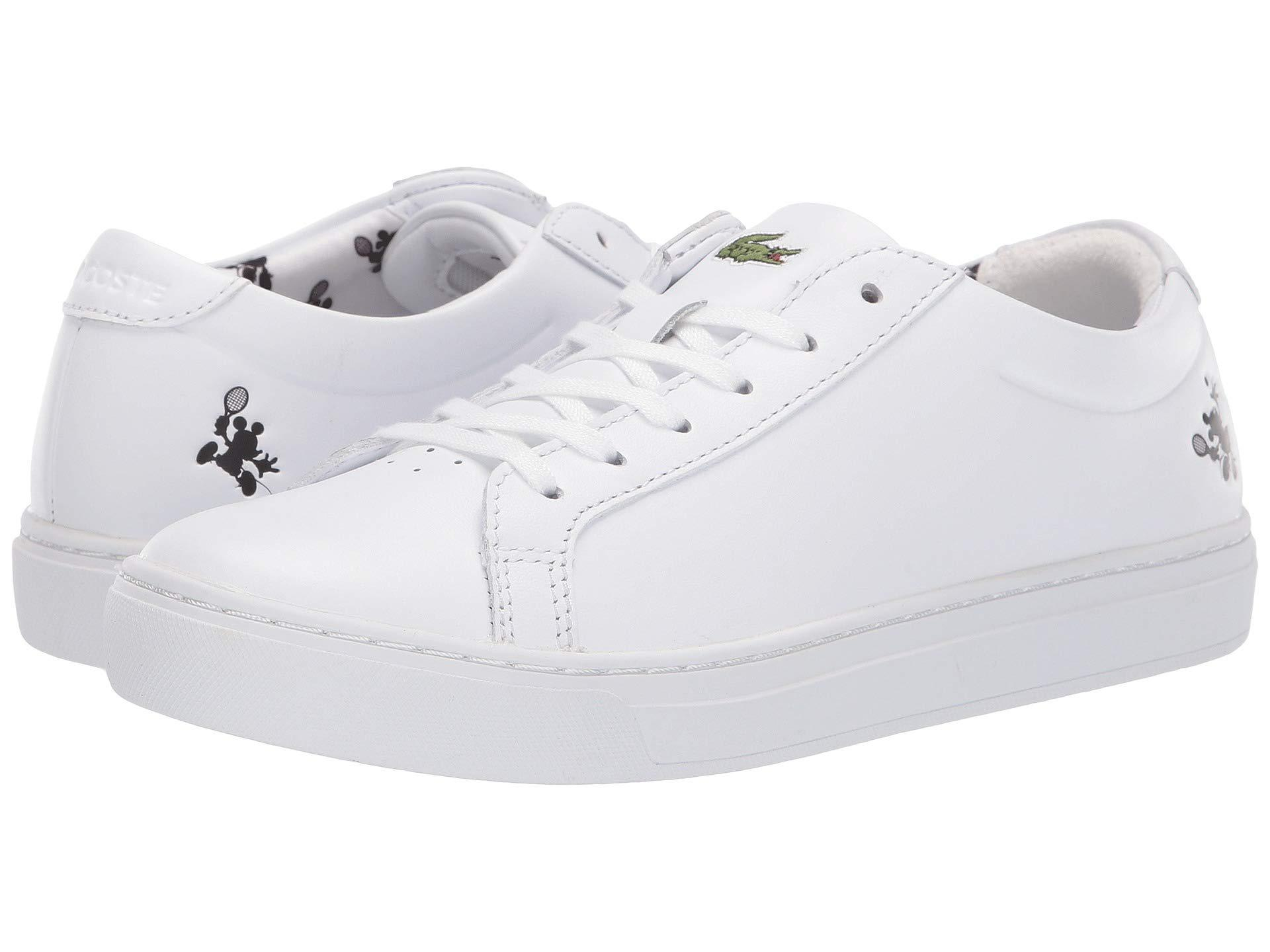 0bd4fd7c8 Lyst - Lacoste L.12.12 418 1 Disney (white) Women s Shoes in White