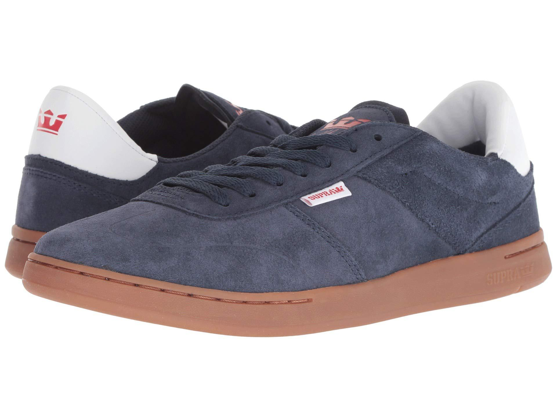 ff6fb4eae5a9 Lyst - Supra Elevate (navy gum) Men s Shoes in Blue for Men