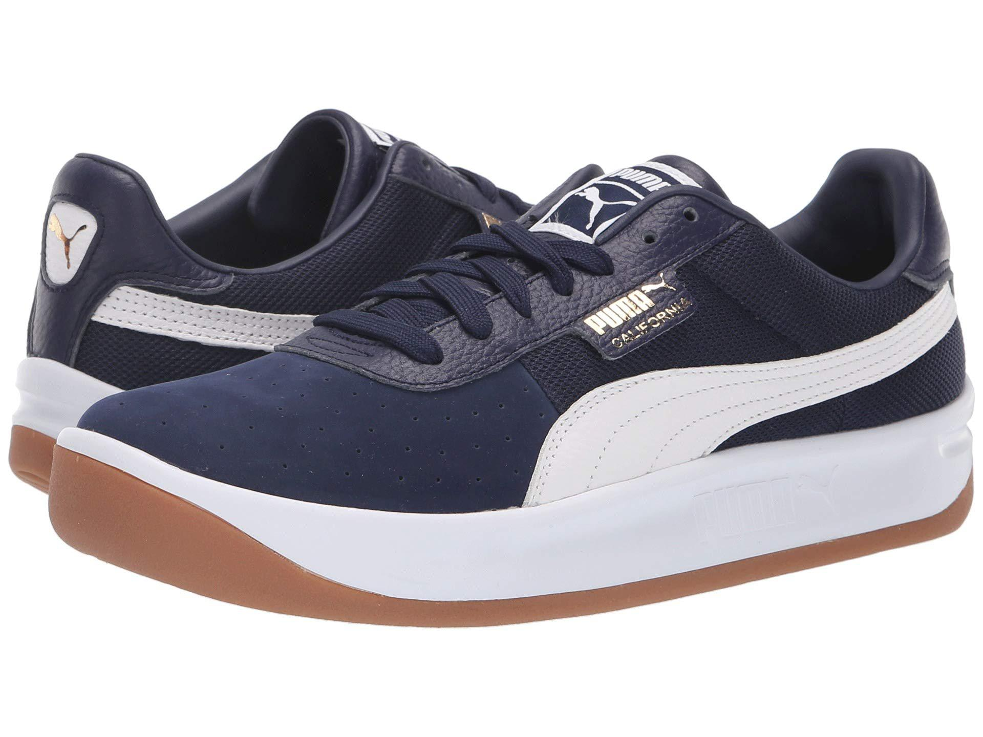 Lyst - PUMA California Casual ( White peacoat  White) Men s Shoes in ... 6e27b8888