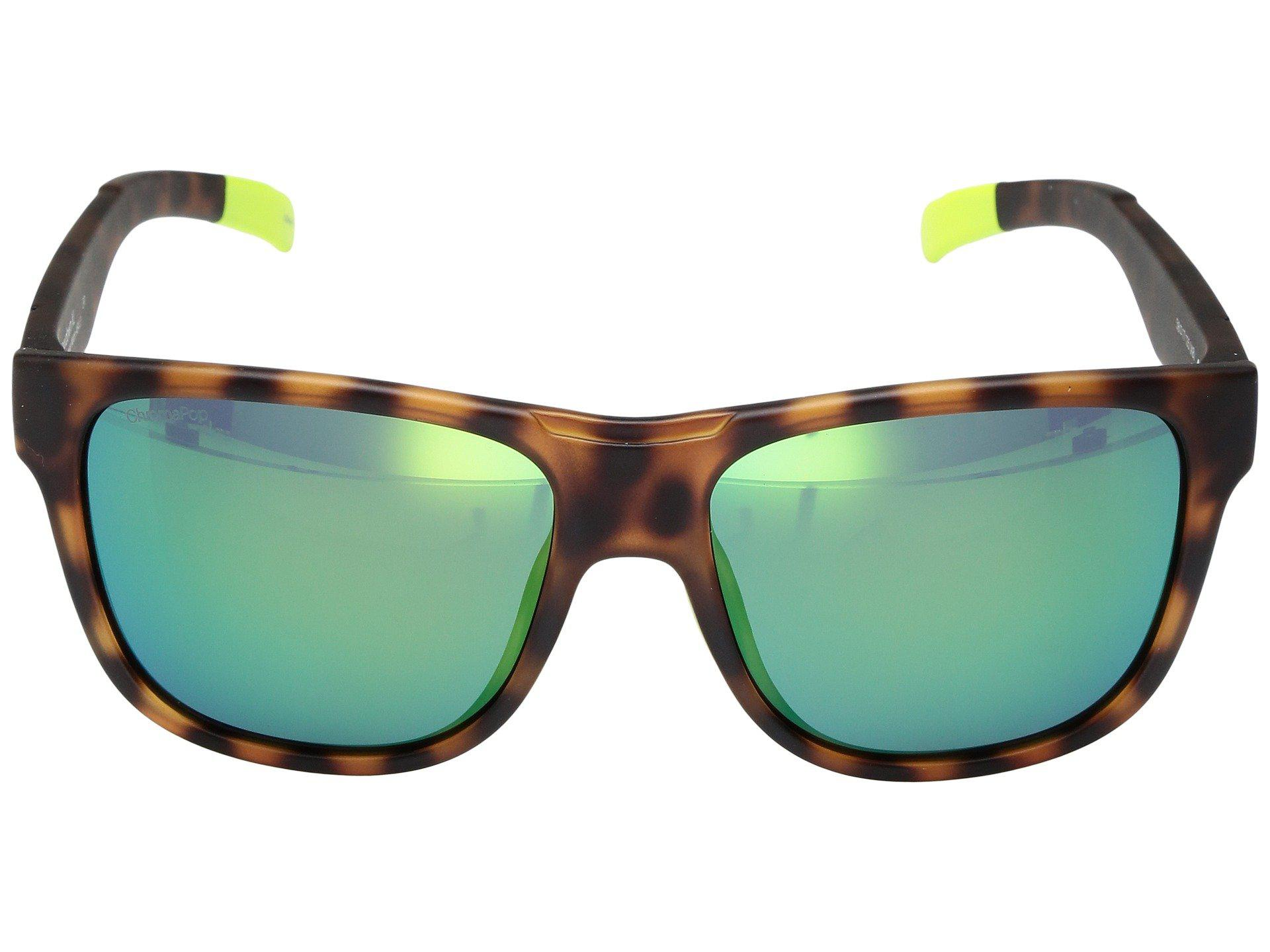 1f3e5e2748 Smith Optics - Multicolor Lowdown Xl (matte Tortoise Neon chromapop Sun  Green Mirror Lens. View fullscreen