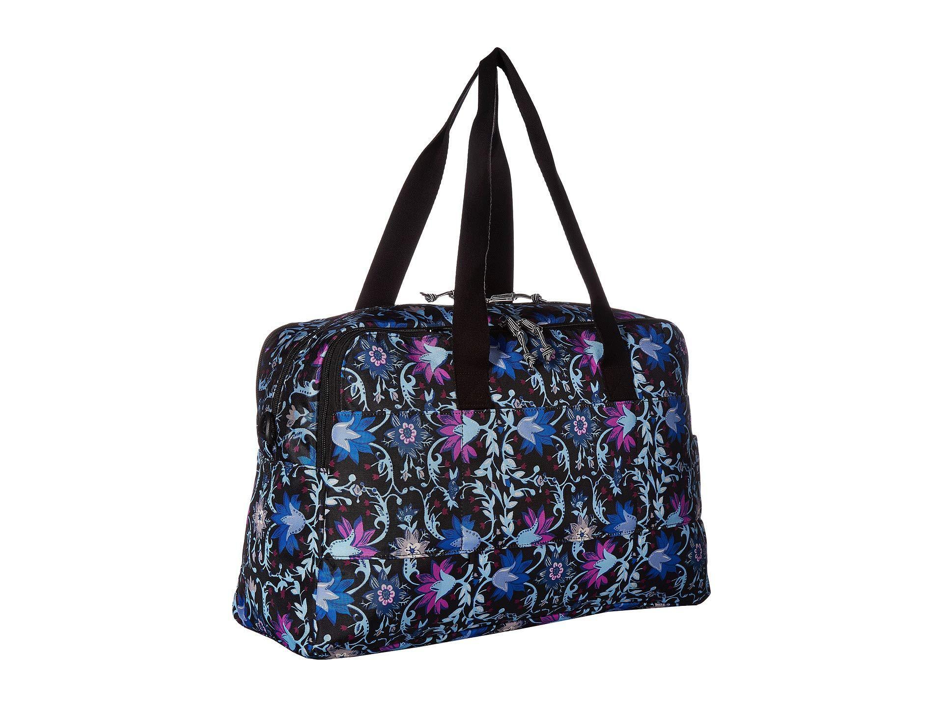 c18a1ce616 Vera Bradley - Multicolor Lighten Up Weekender Travel Bag (petite Vines)  Bags - Lyst. View fullscreen