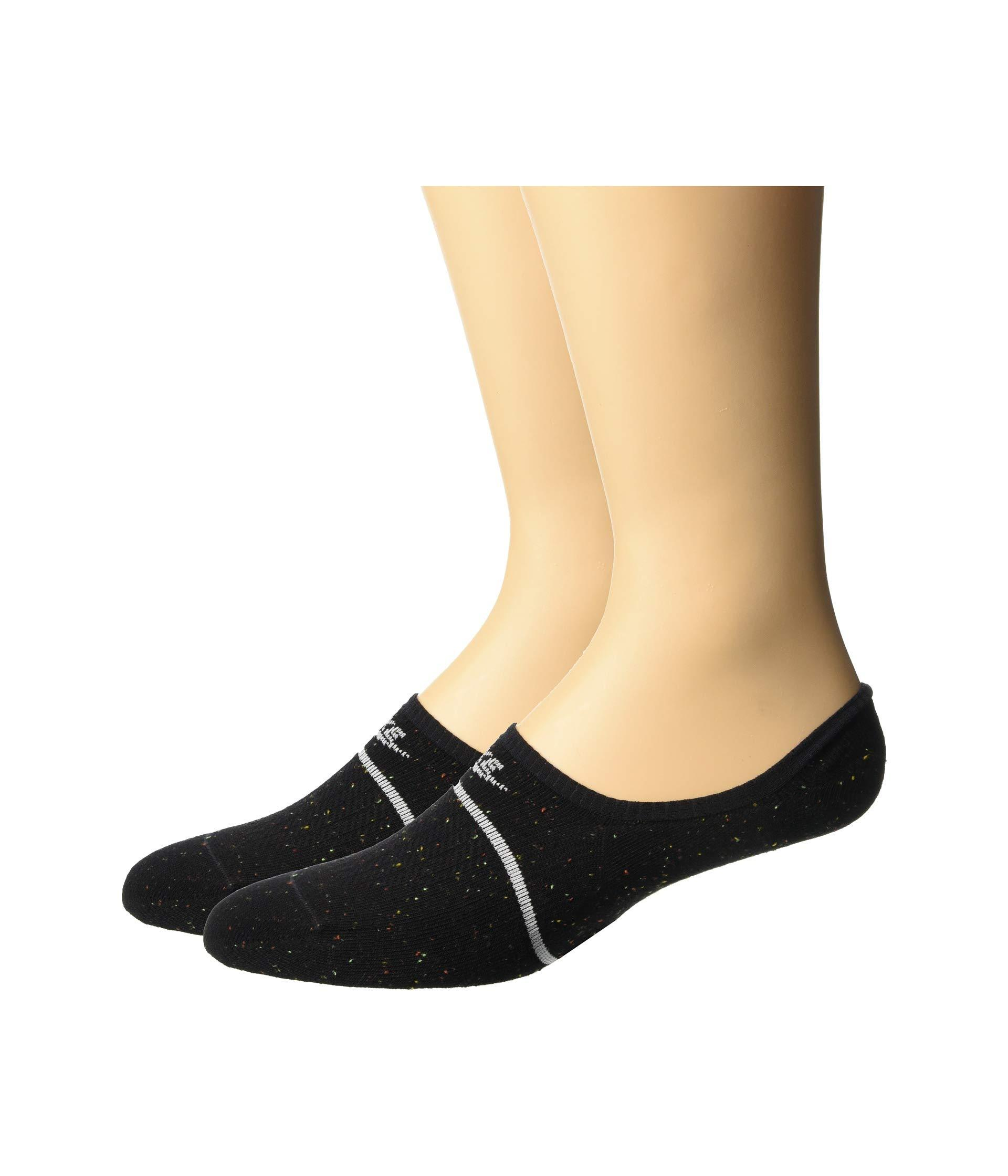 f7f37fa2e Lyst - Nike Sneaker Sox Essential Footie 2-pair Pack (white/black ...