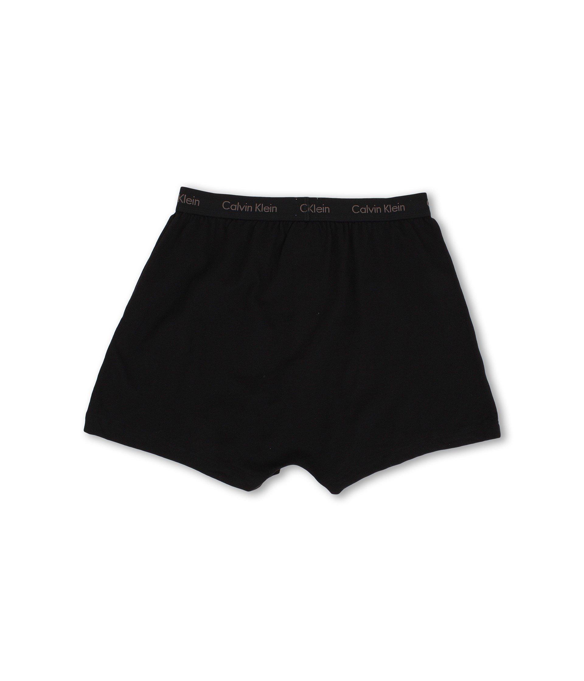 7dcca7387eb8 Calvin Klein - Cotton Classic Knit Boxer 3-pack Nu3040 (black) Men's  Underwear. View fullscreen