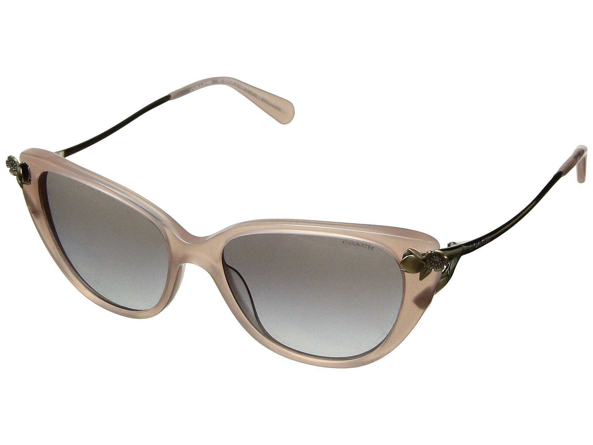 d55c68475b purchase coach other authentic coach aviator sunglasses 9586e bce2d  buy  lyst coach 0hc8242b milky pink blush grey gradient fashion 77771 78c6c
