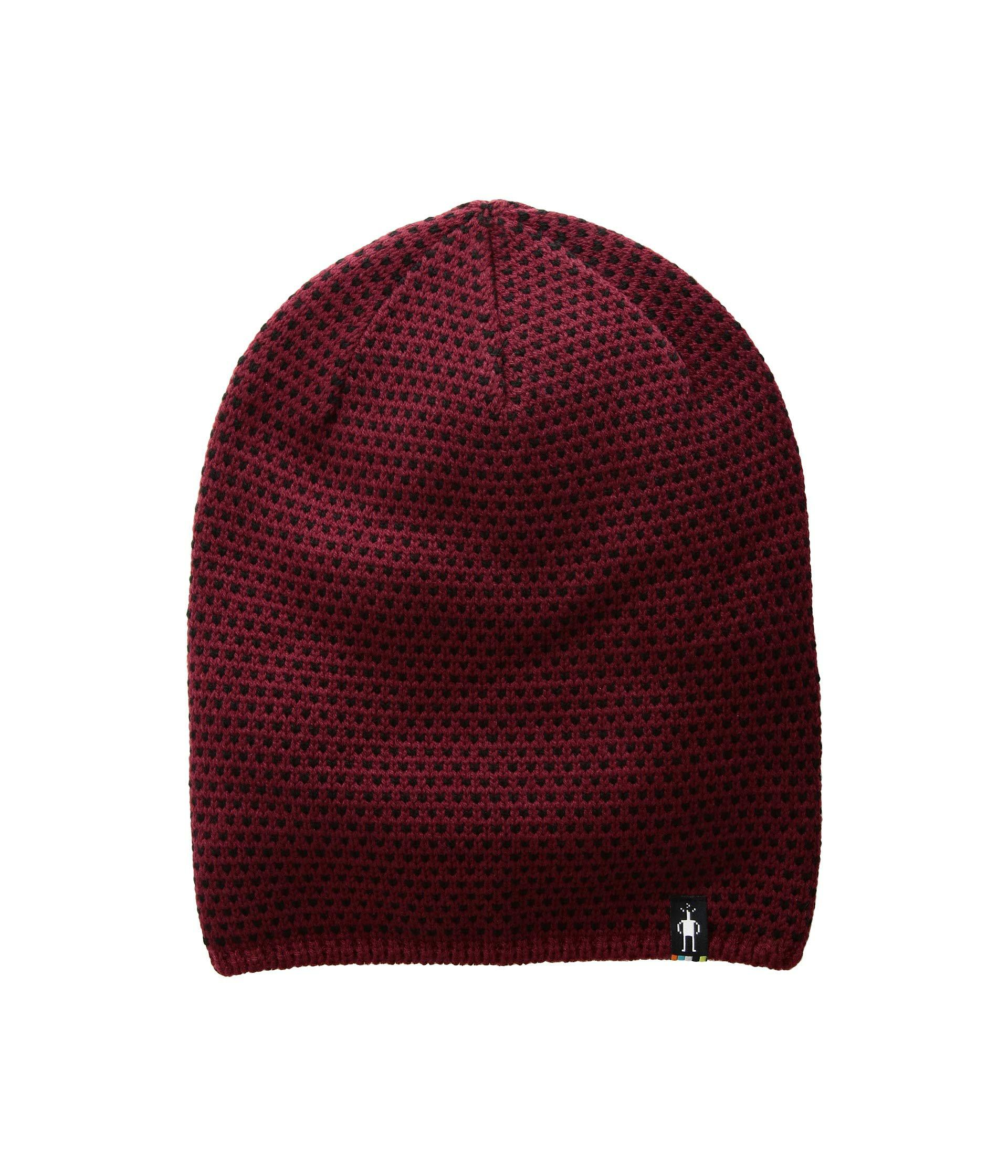 b045d1ce433 Lyst - Smartwool Diamond Cascade Hat (tibetan Red) Beanies in Red ...