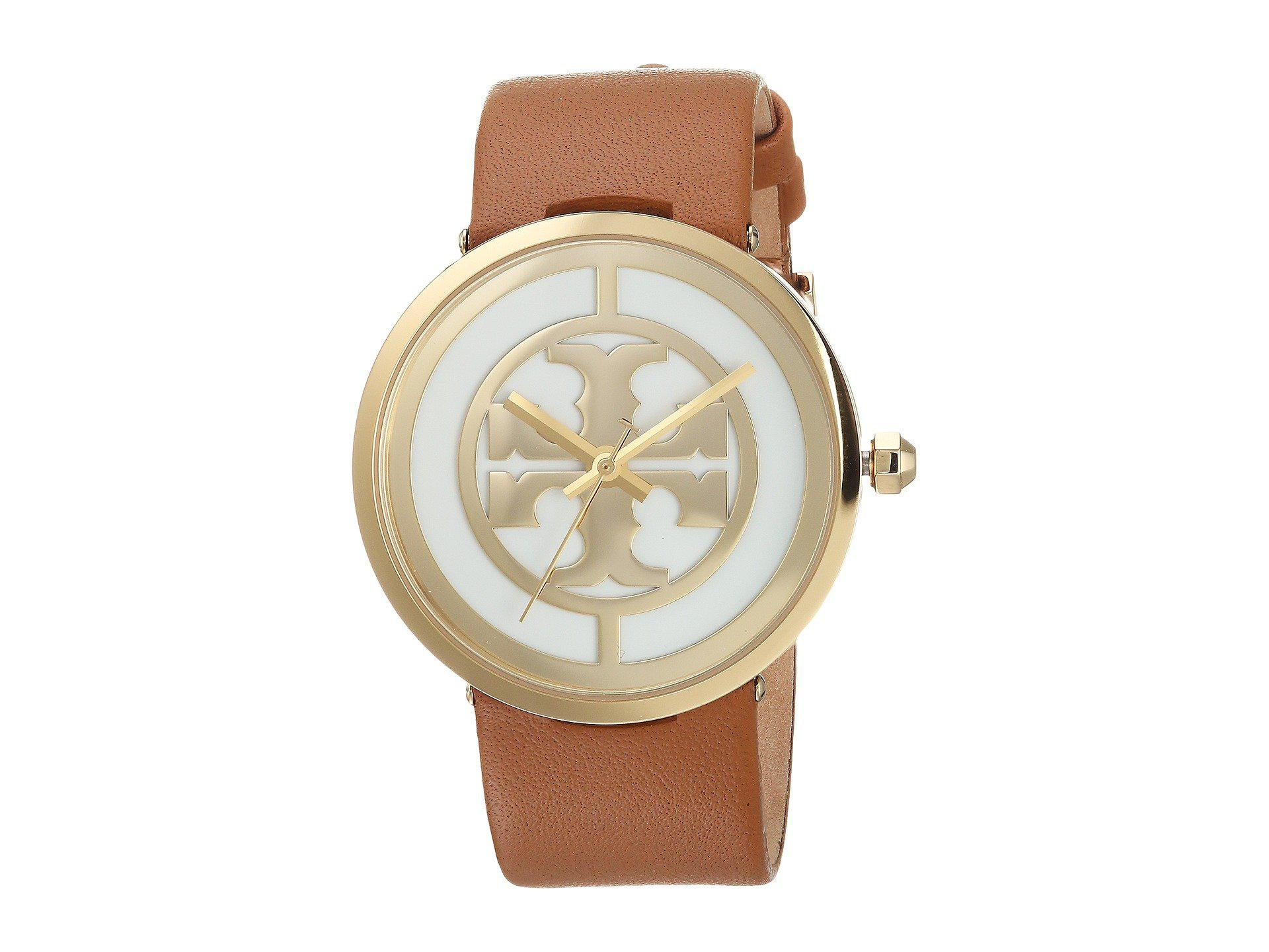 3997e1e3bef8 Tory Burch - Reva - Tbw4020 (light Brown) Watches - Lyst. View fullscreen