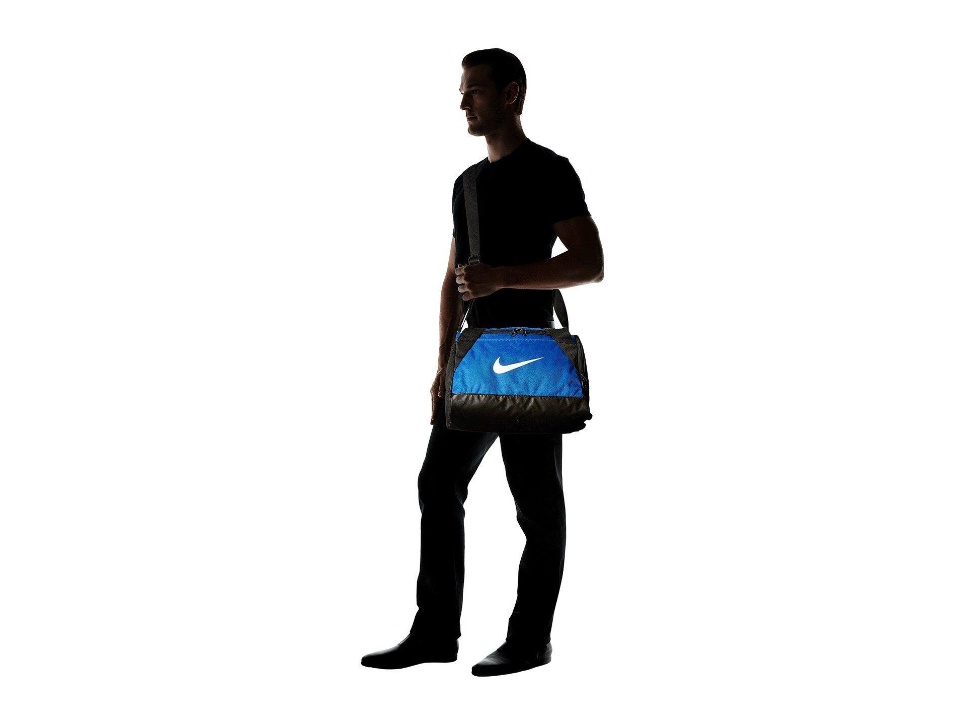 95d82f11ee Nike - Brasilia Duffel Extra Small (game Royal black white) Duffel Bags.  View fullscreen