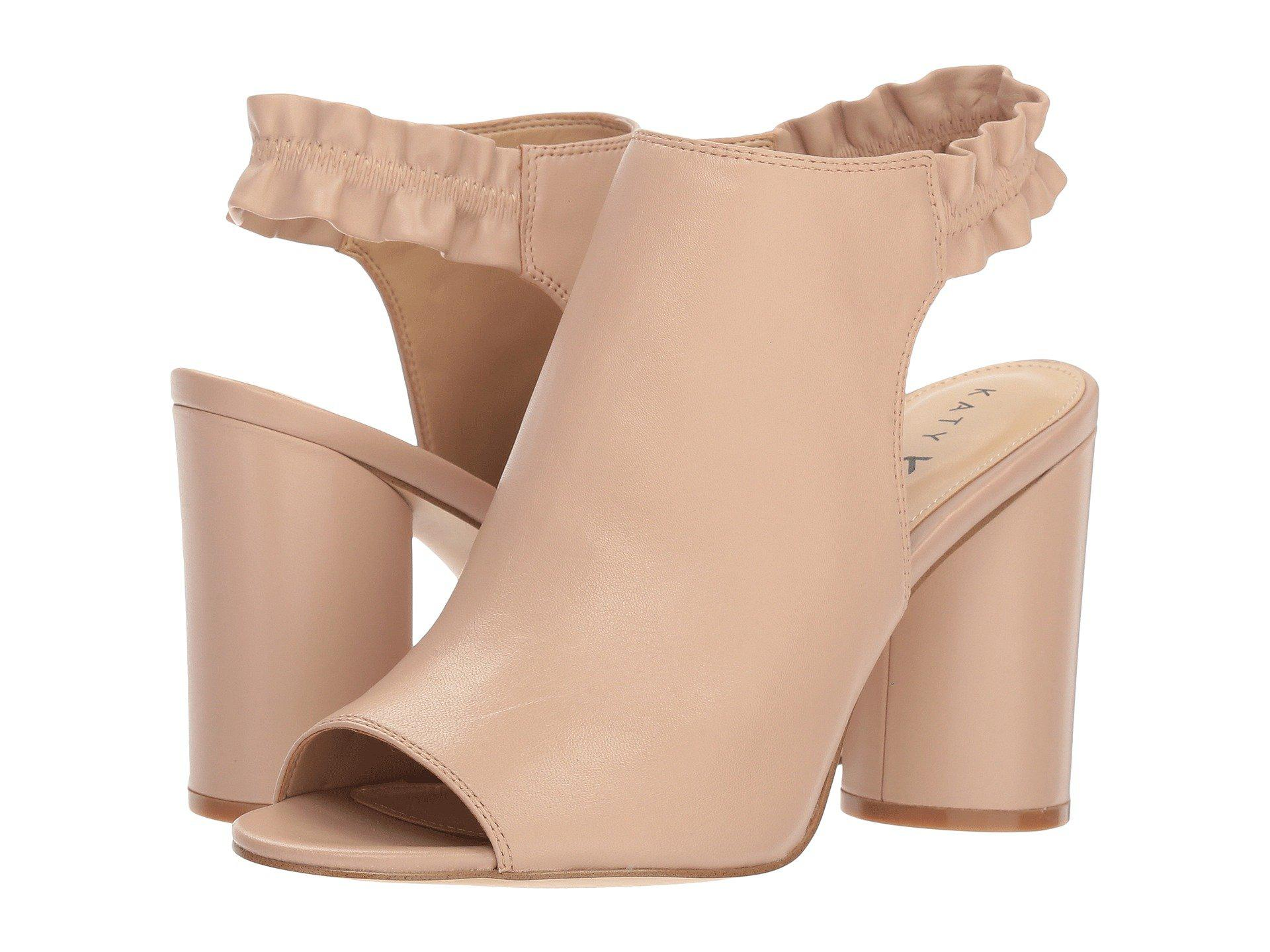 7e81cef636 Lyst - Katy Perry The Jocelyn (black Nappa) Women's Shoes in Natural