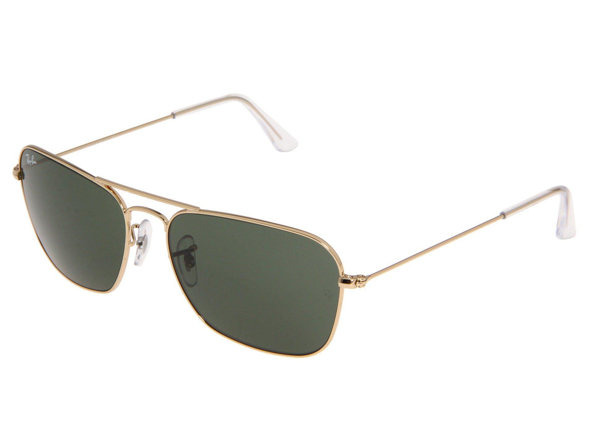 ec3ce4dd65d Ray-Ban. Women s Green Rb3136 Caravan Size 58mm (arista g-15xlt Lens) Sport  Sunglasses