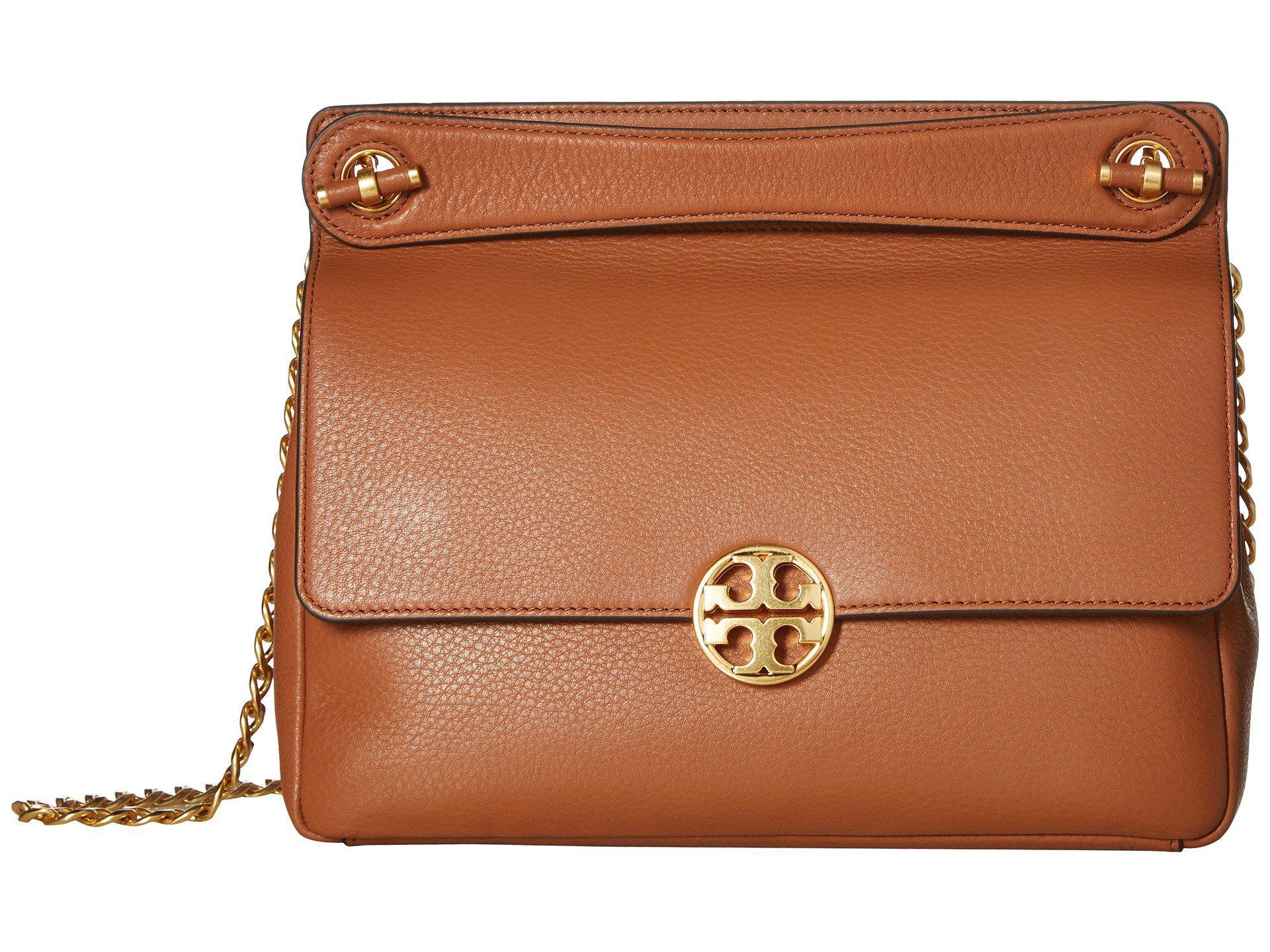 bb9efcde459 Lyst - Tory Burch Chelsea Flap Shoulder Bag (classic Tan) Shoulder ...
