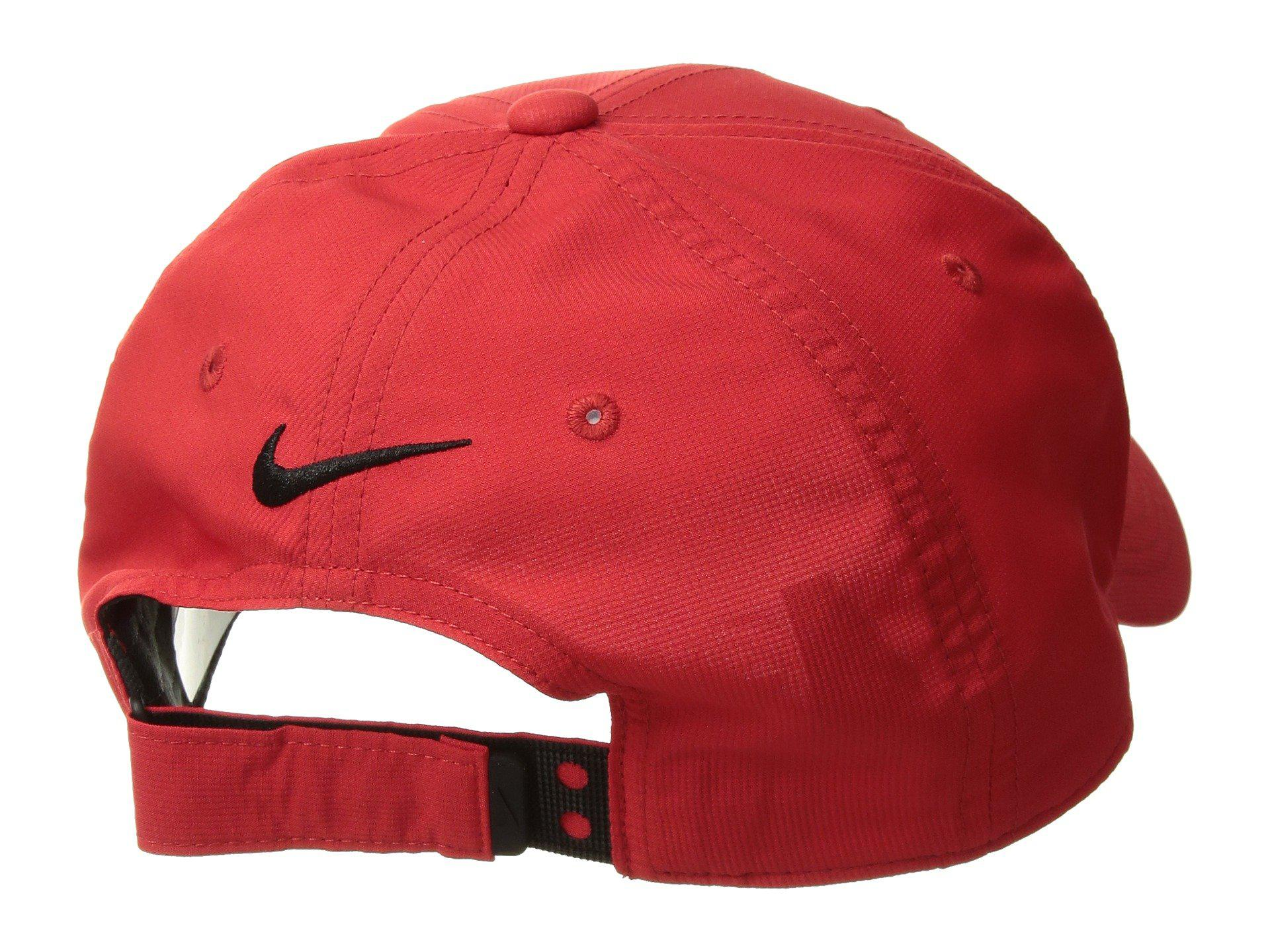 sports shoes 294ff f78e6 ... lyst nike cap l91 tech in red for men