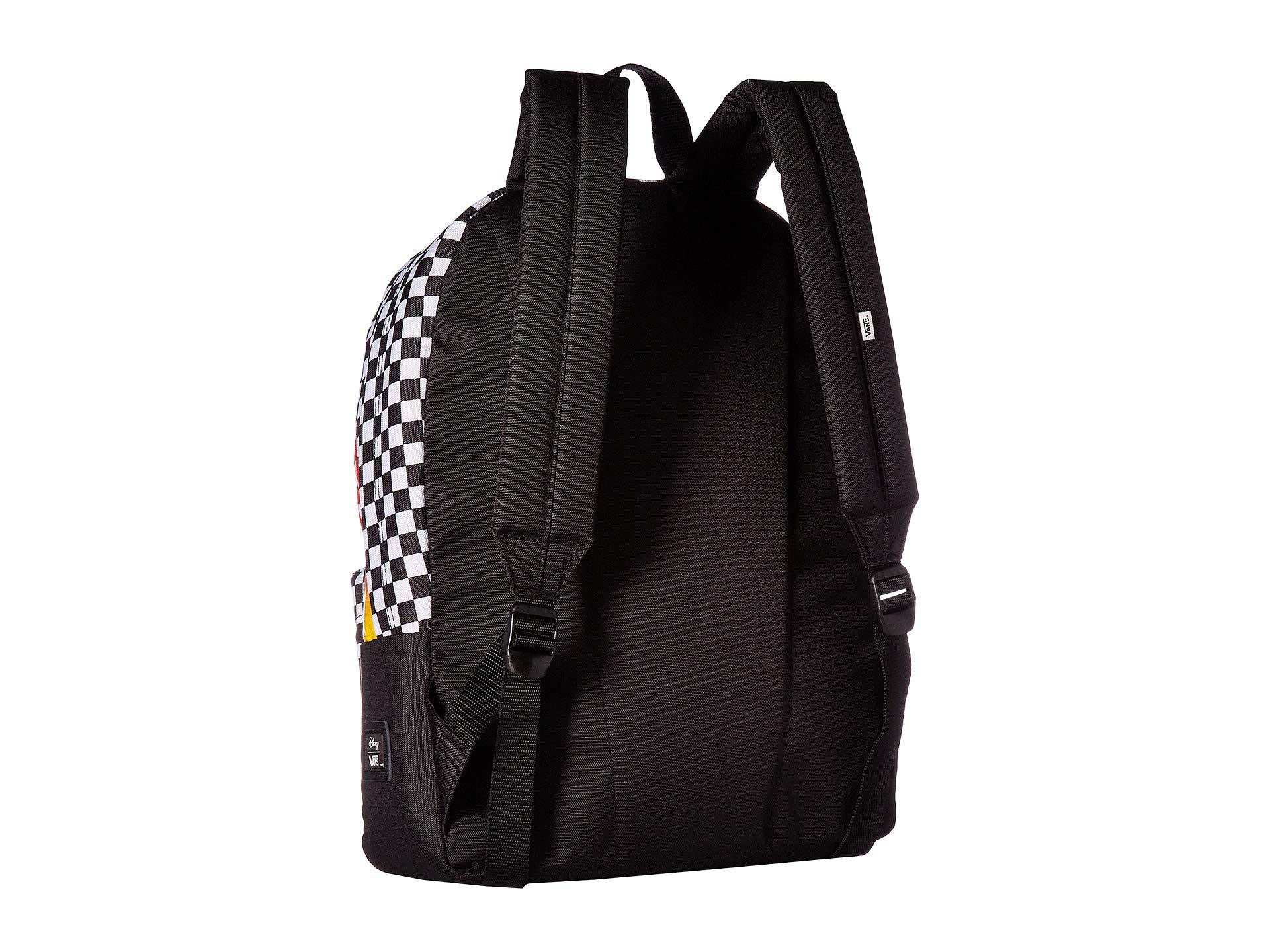 6397889bbaa Vans - Mickey s 90th Punk Mickey Realm Backpack (black) Backpack Bags -  Lyst. View fullscreen