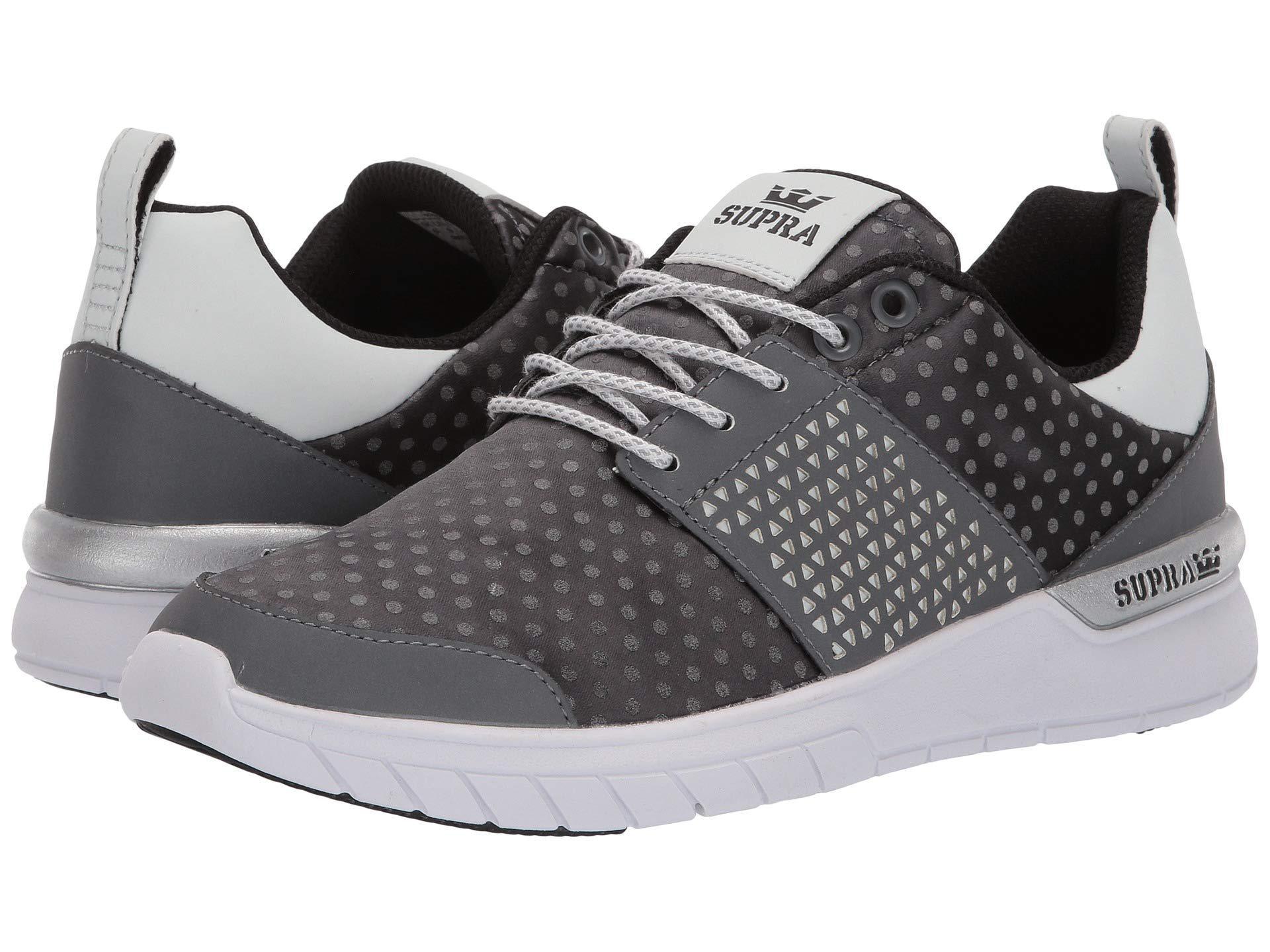 291324da7f8b Supra - Gray Scissor (dark Grey polka Dot white) Women s Skate Shoes. View  fullscreen