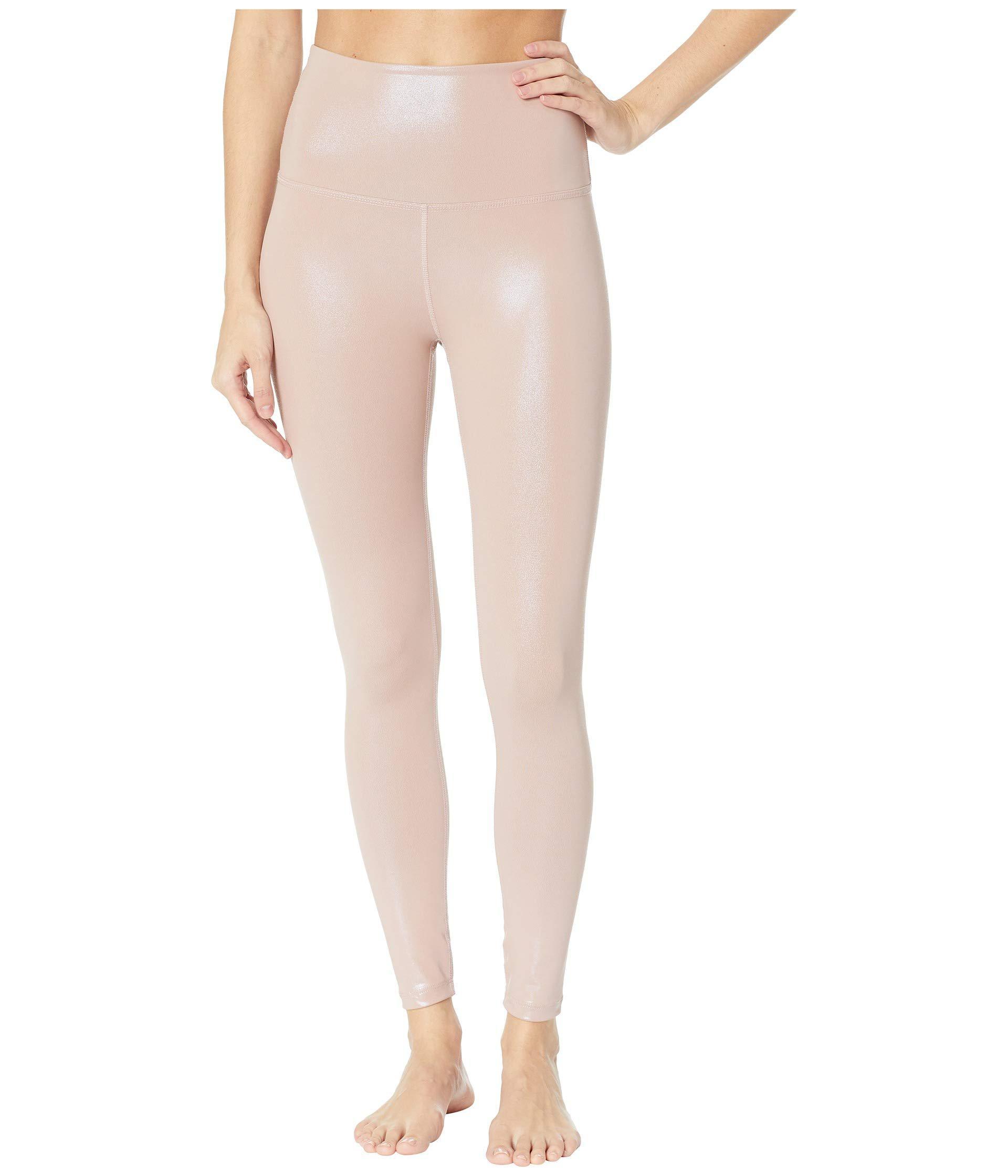 88b7e25571c96 Lyst - Beyond Yoga High-waisted Midi Leggings (black) Women's Casual ...