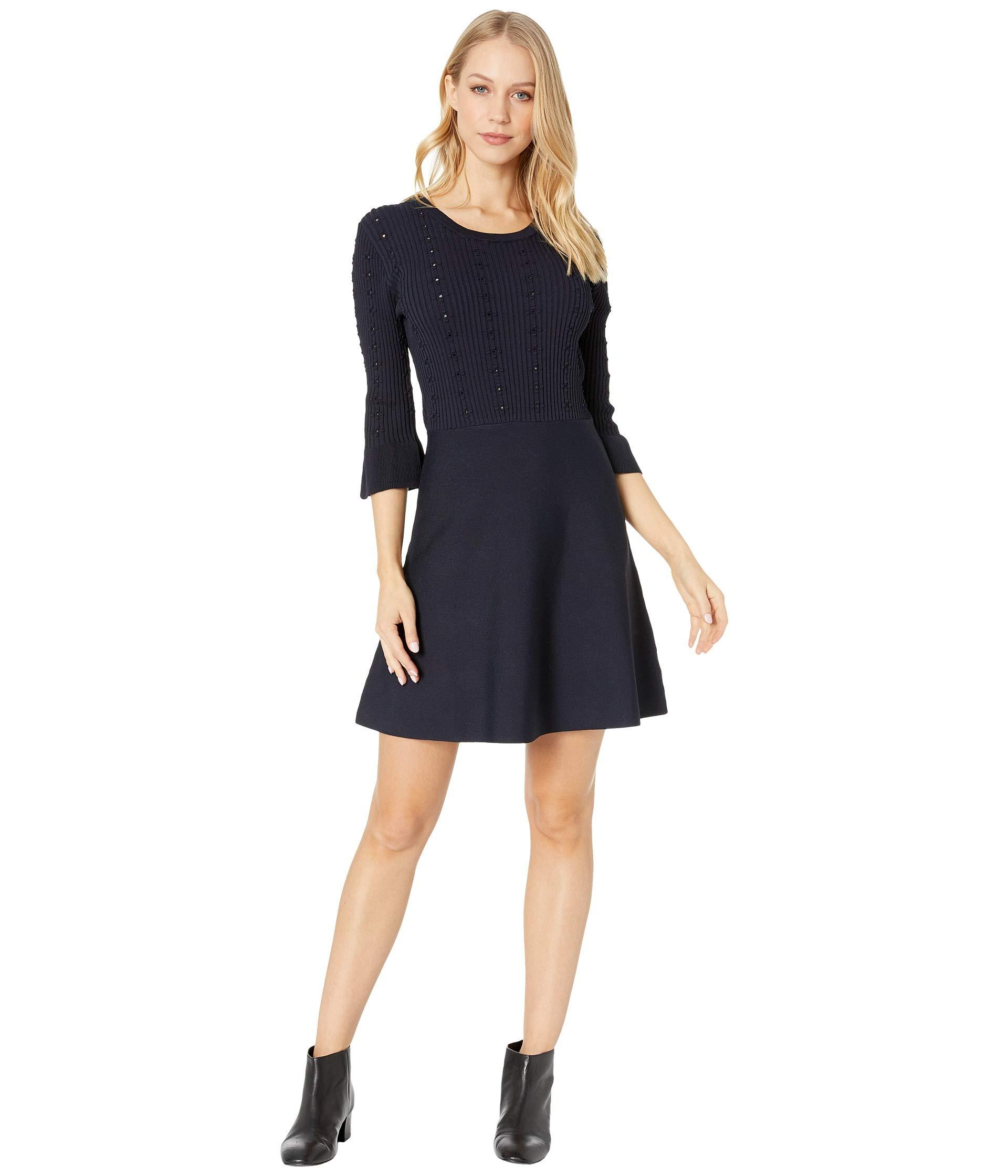 3be59ef8b63f5 Lyst - Cupcakes And Cashmere Katrina Sweater Dress (ink) Women's ...