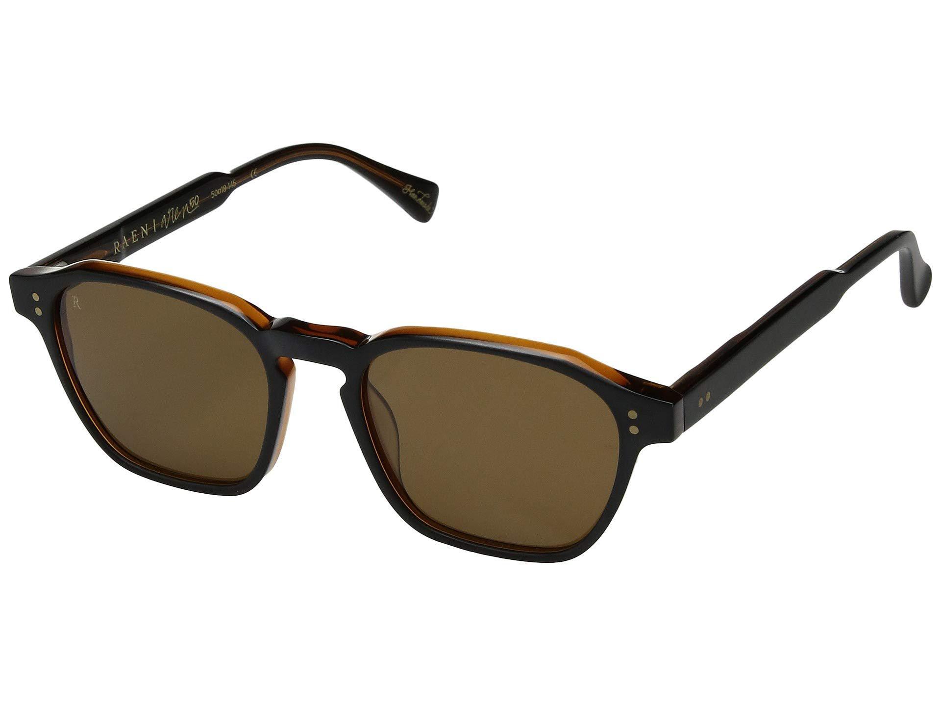 c1b2468489a Lyst - Raen Aren 50 (black   Tan brown) Sport Sunglasses in Brown