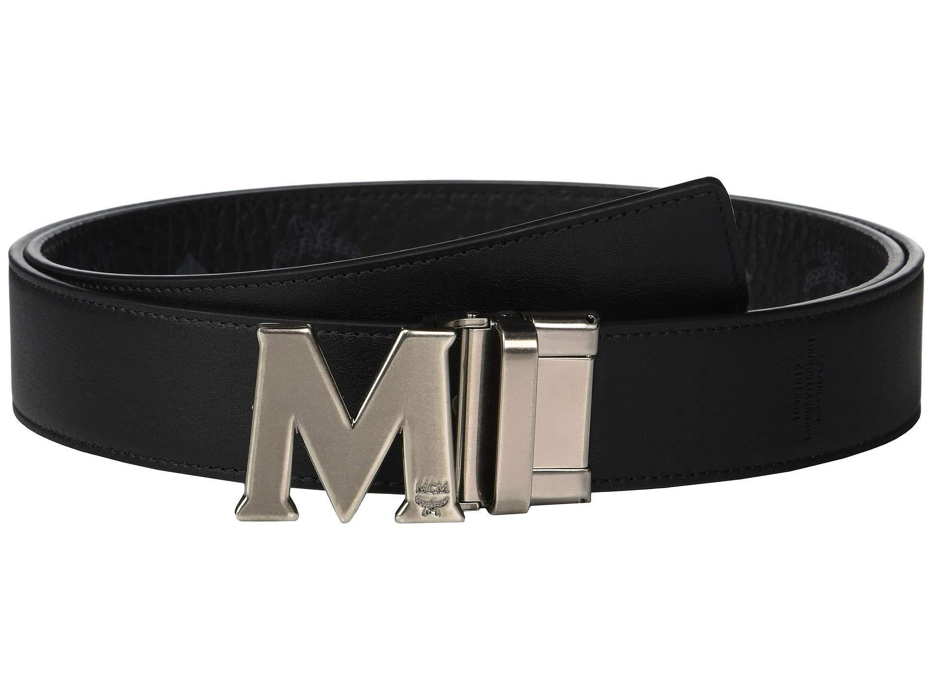0bfdf3d36dd4 MCM - Claus Reversible Belt (black) Men s Belts for Men - Lyst. View  fullscreen